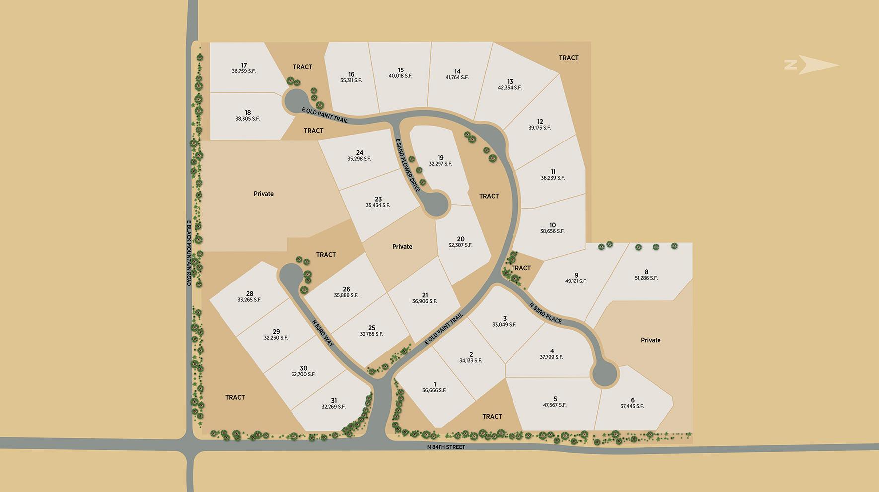 Reserve at Black Mountain Site Plan