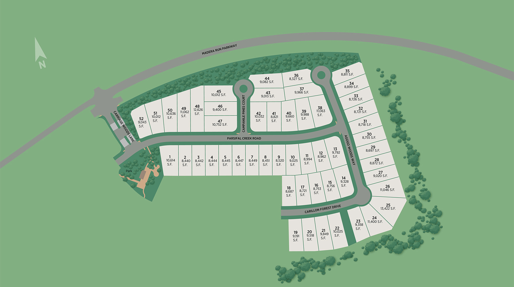 The Groves - Select Collection Site Plan