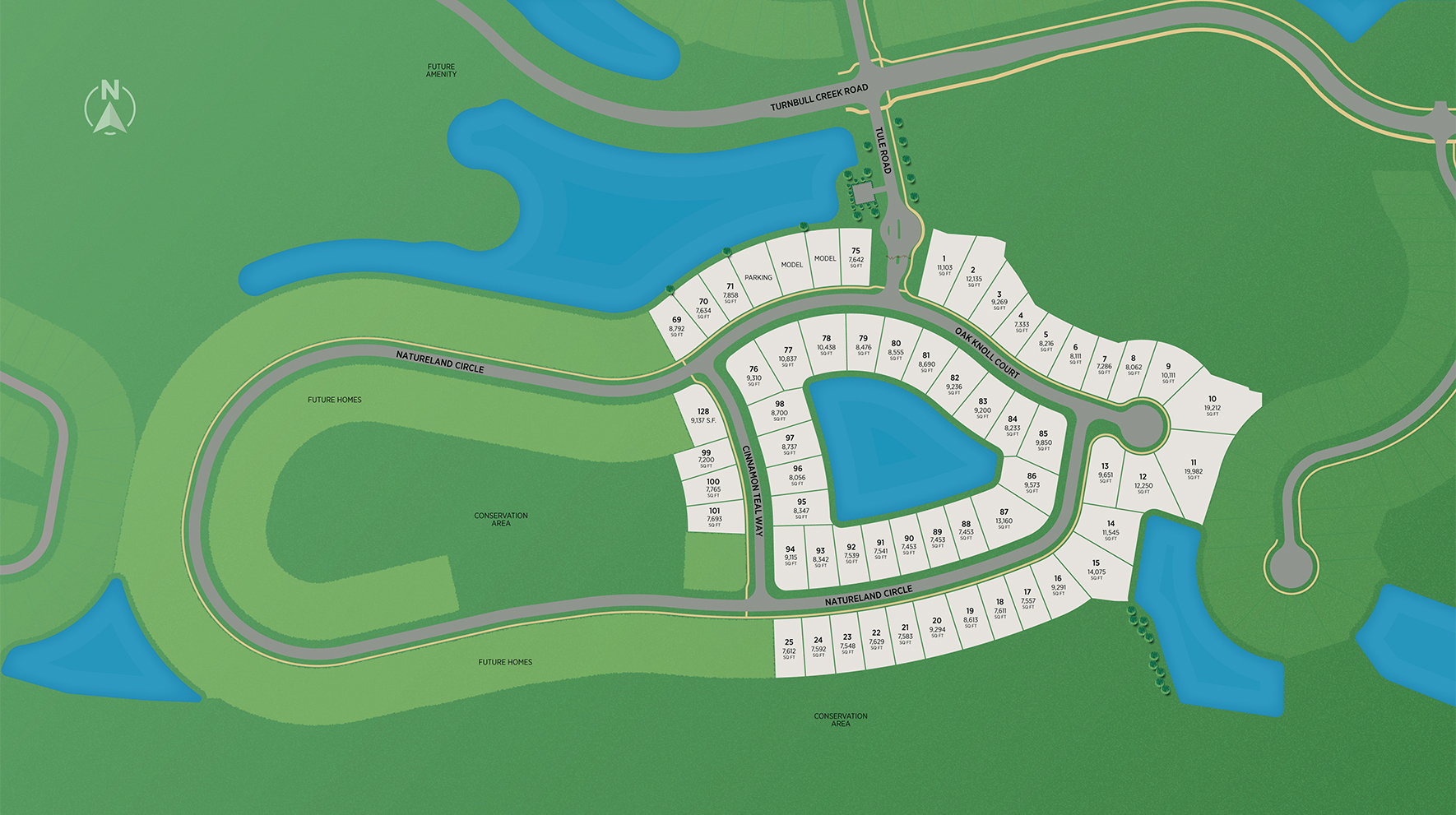 Lakeview at Grand Oaks Site Plan