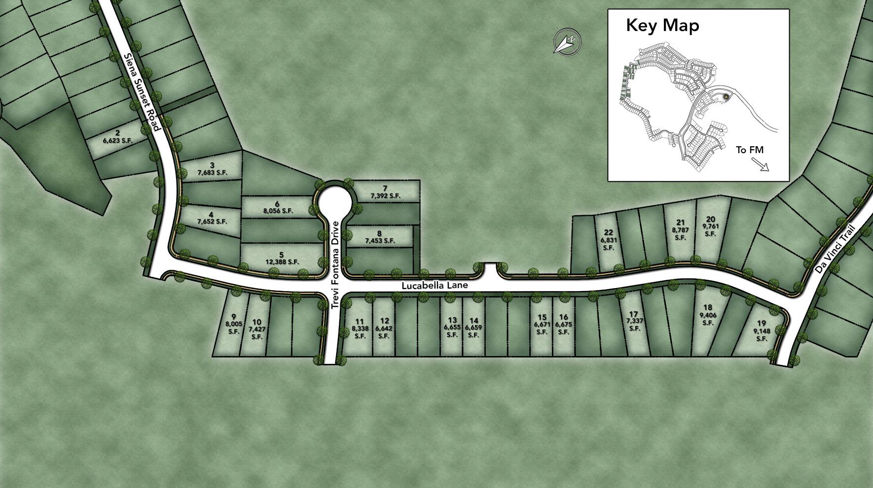 Travisso - Capri Collection Site Plan I