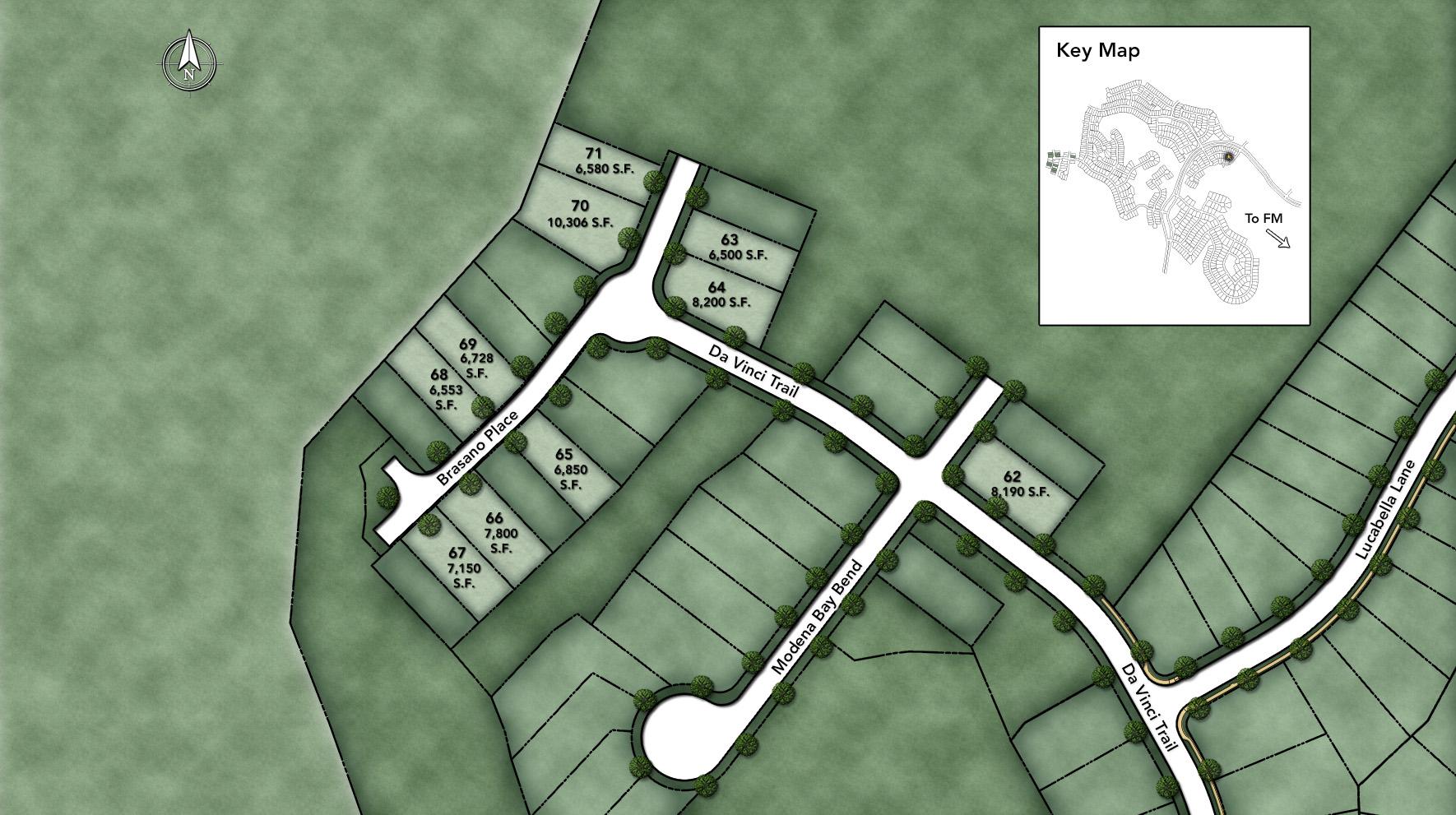 Travisso - Capri Collection Site Plan III