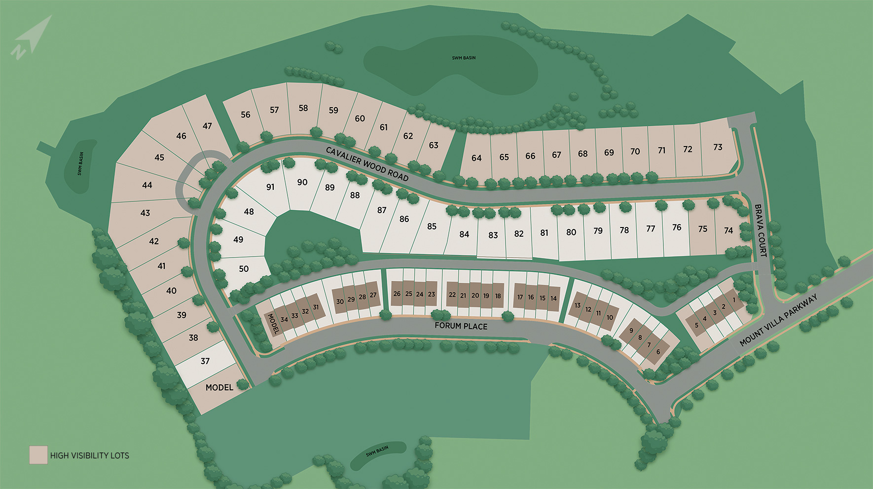Toll Brothers at Turf Valley - Single-Family Homes Site Plan