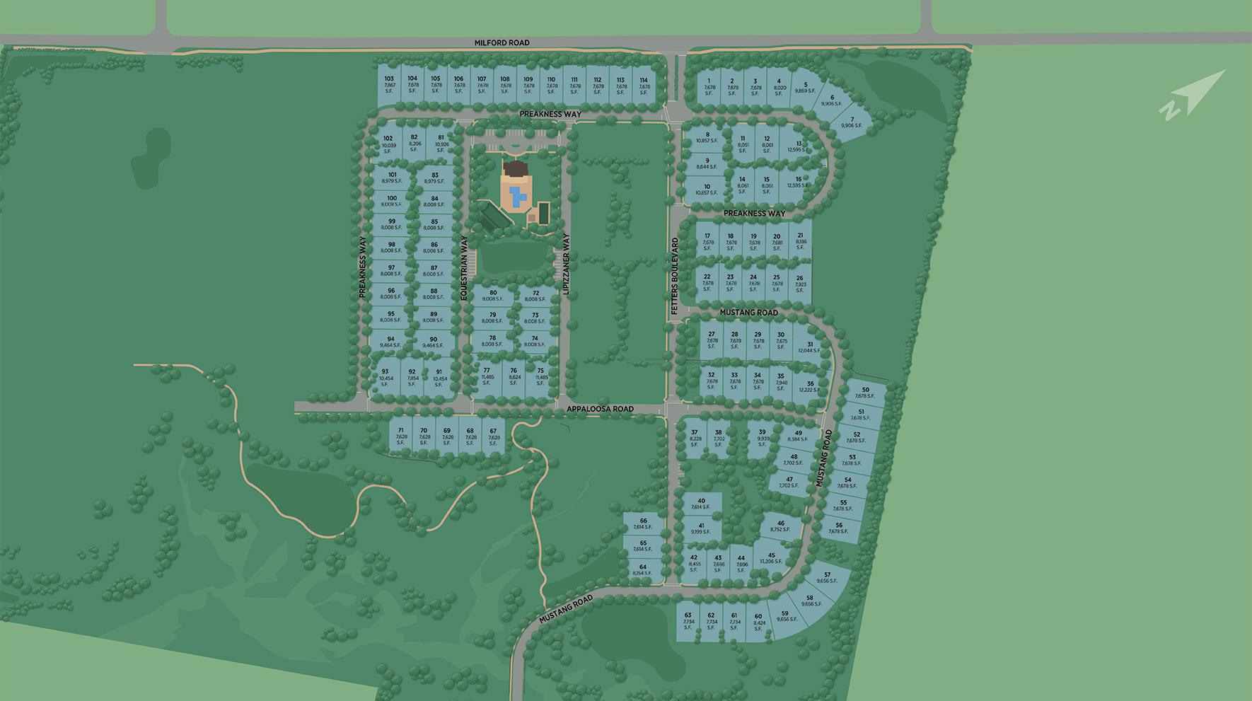 Preserve at Marsh Creek - Regency Collection Site Plan