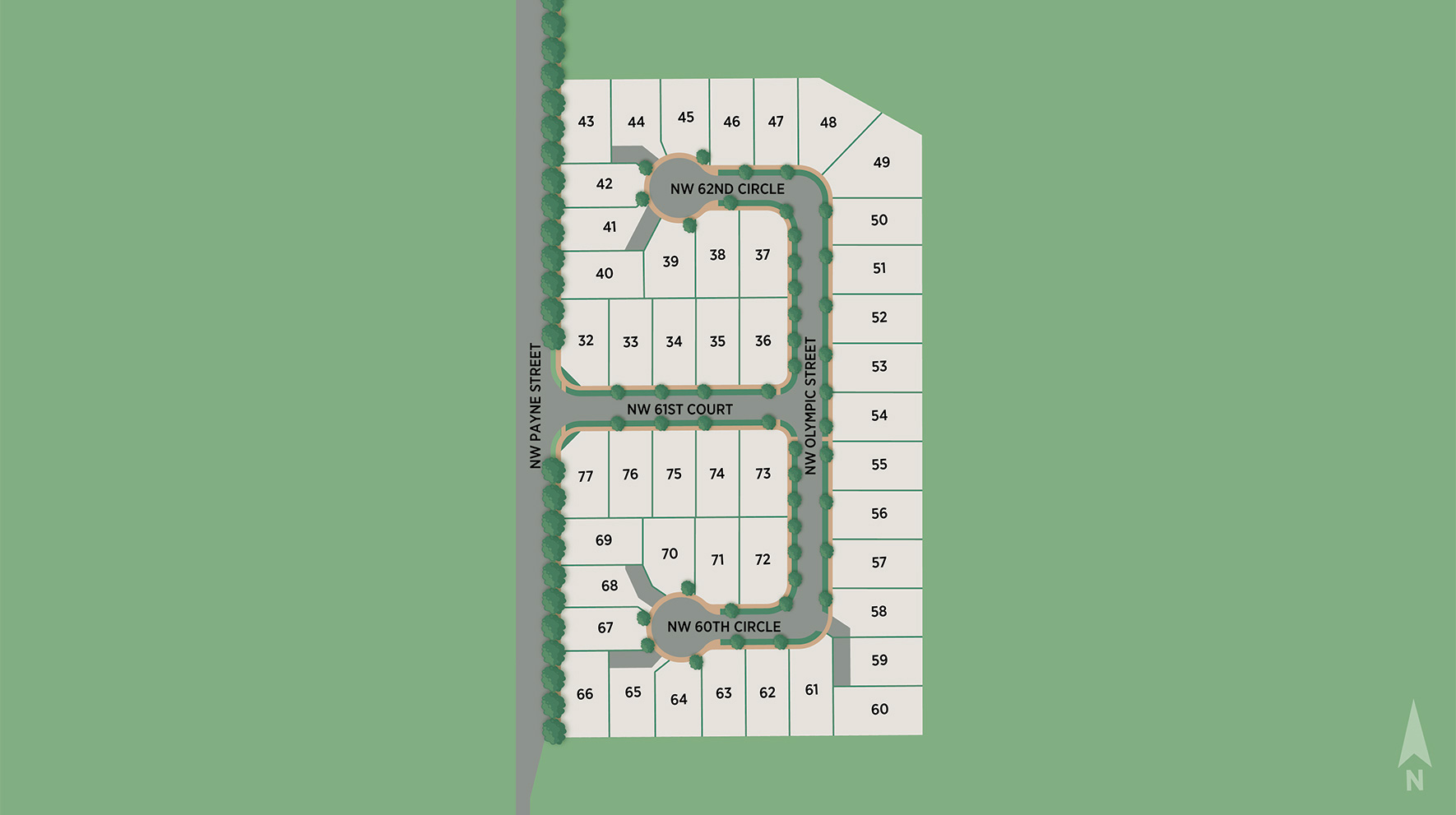 Toll Brothers at Camas Meadows Site Plan