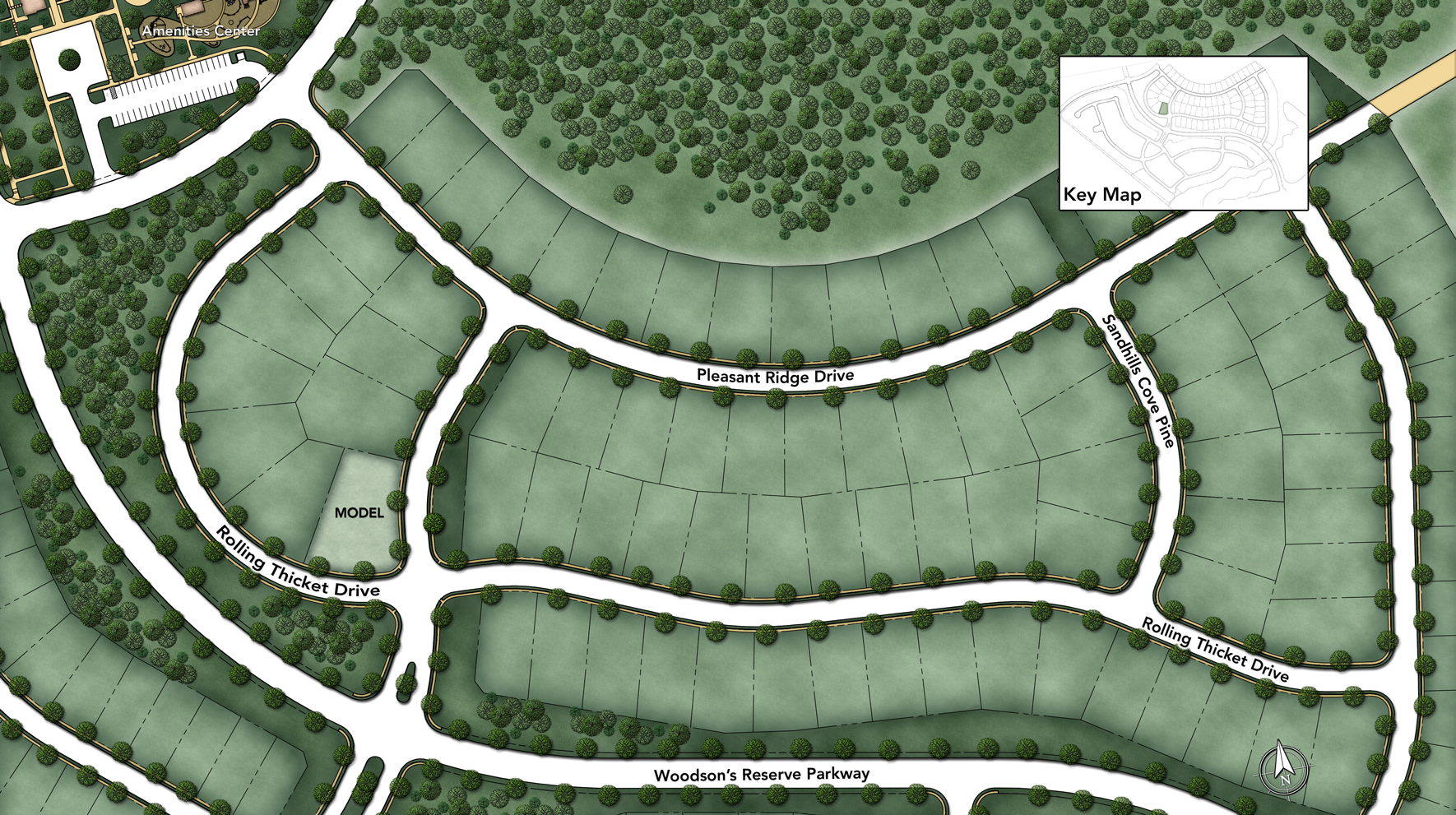 Woodson's Reserve - Executive Collection Site Plan II