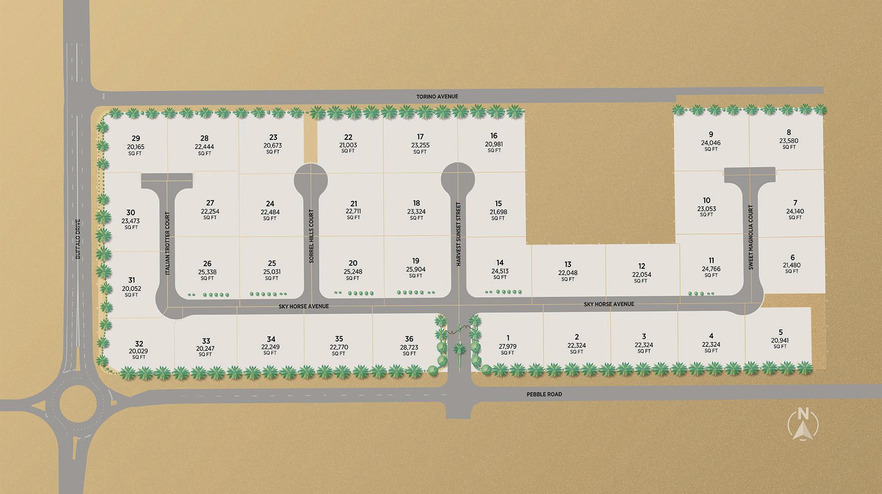 Cascina Ranch Site Plan