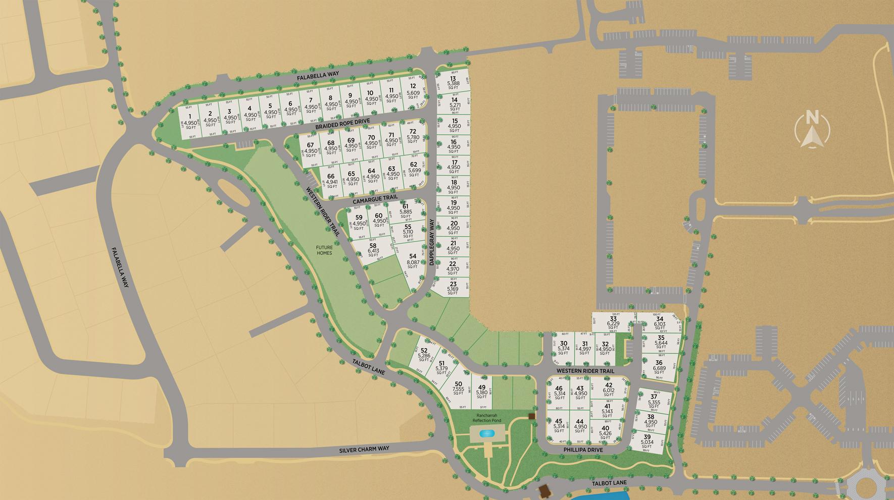 Cantaro at Rancharrah Site Plan