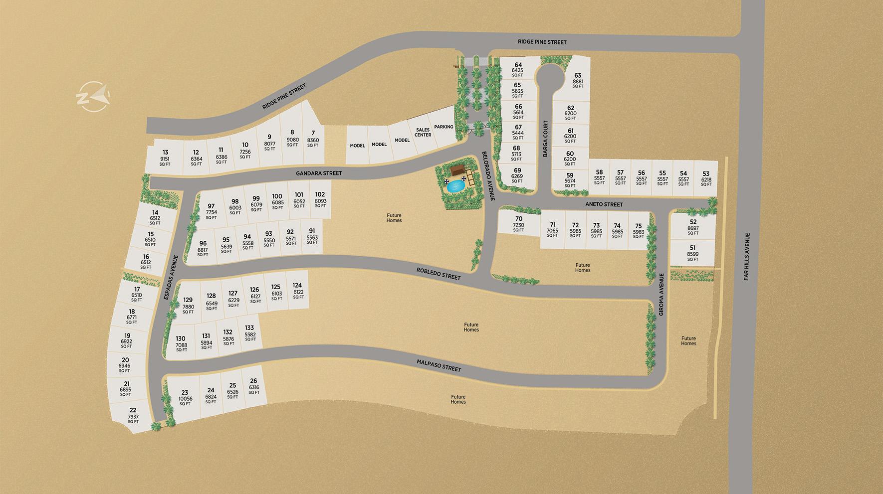 Acadia Ridge Site Plan