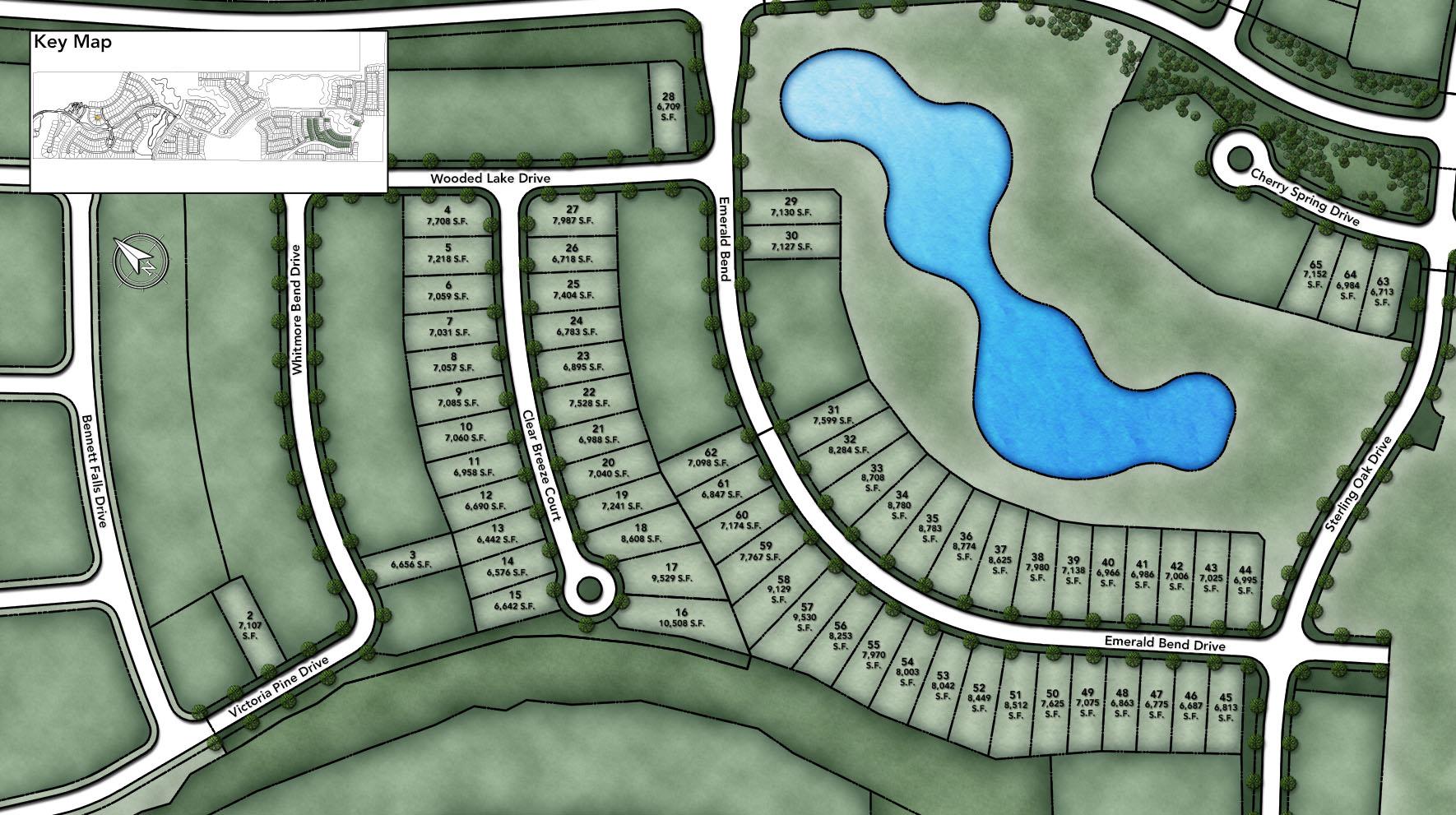 Woodson's Reserve - Villa Collection Site Plan