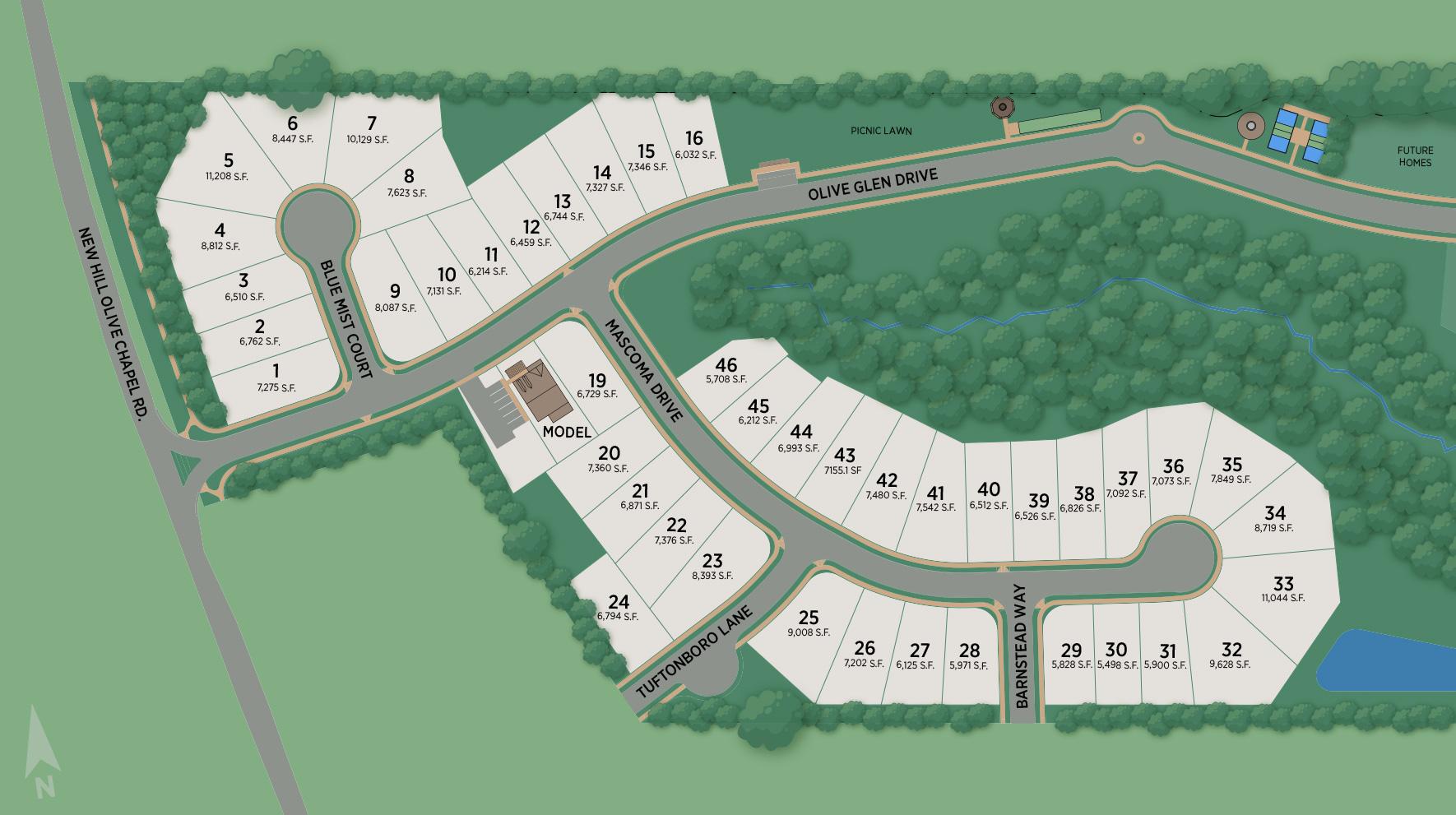 Retreat at Cedar Crossing Site Plan
