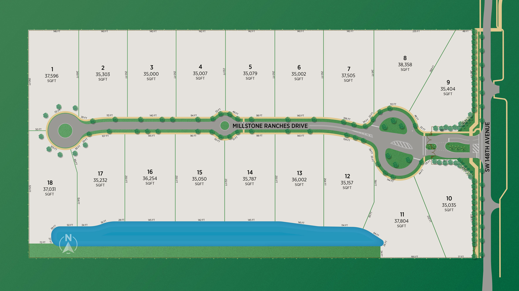 Millstone Ranches Site Plan
