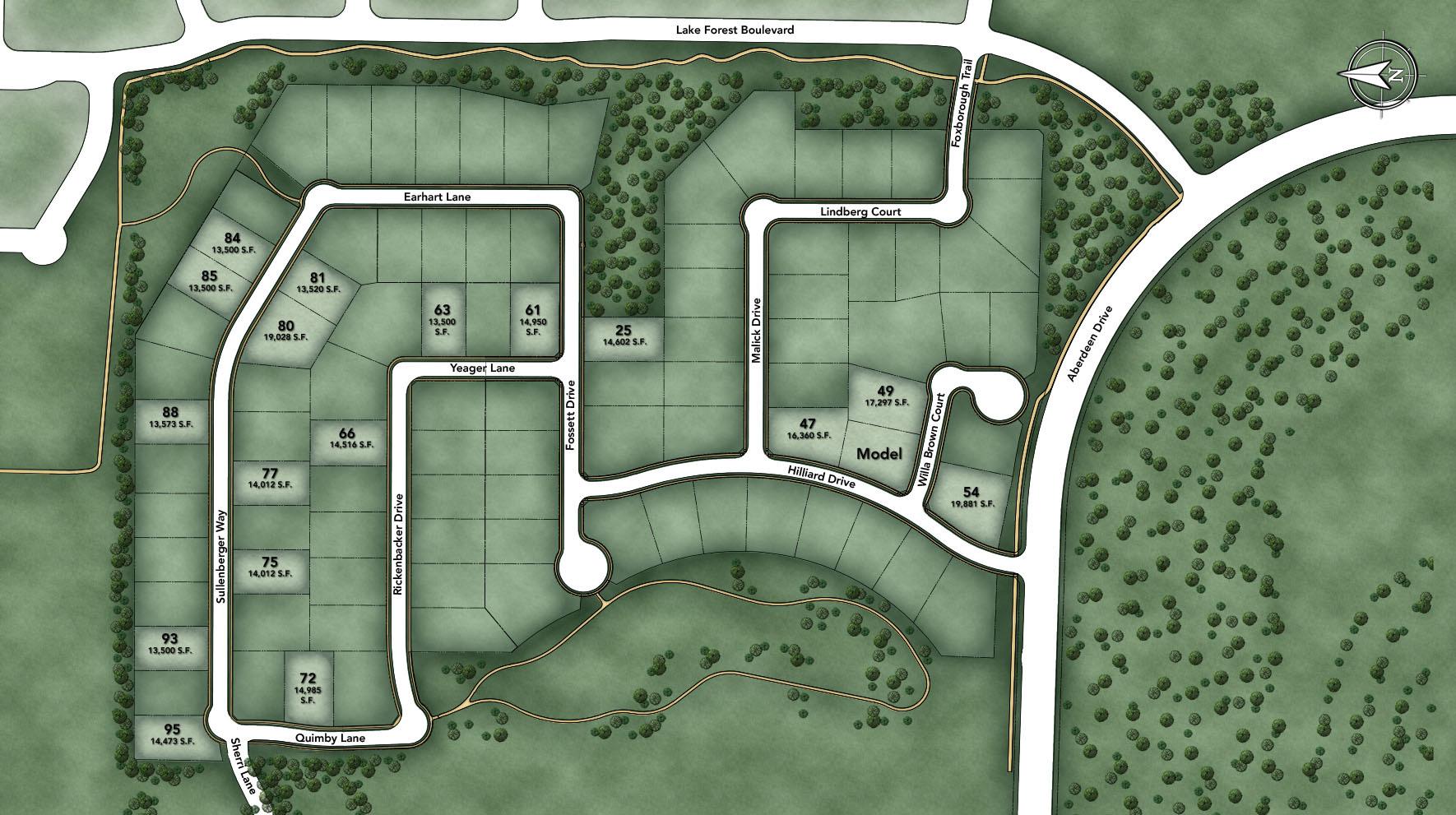 Oakbridge at Flower Mound Site Plan