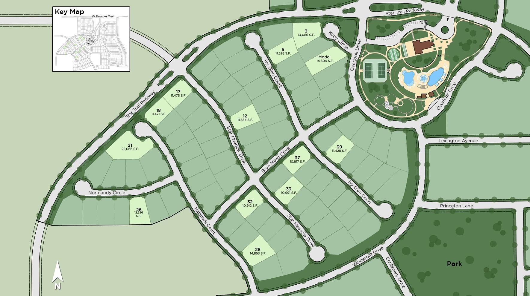 Star Trail Site Plan II