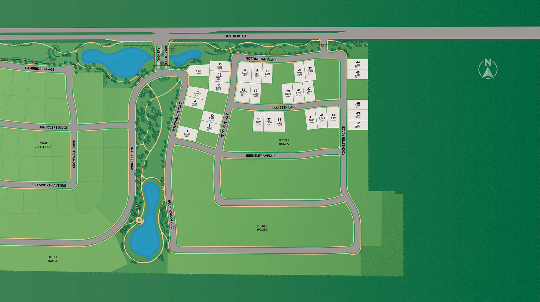 Vickery - Executive Collection Site Plan