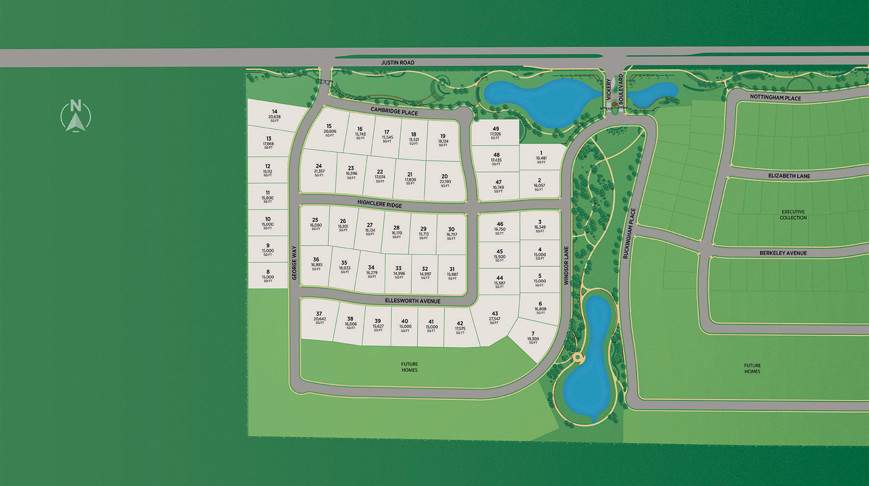 Vickery - Estate Collection Site Plan