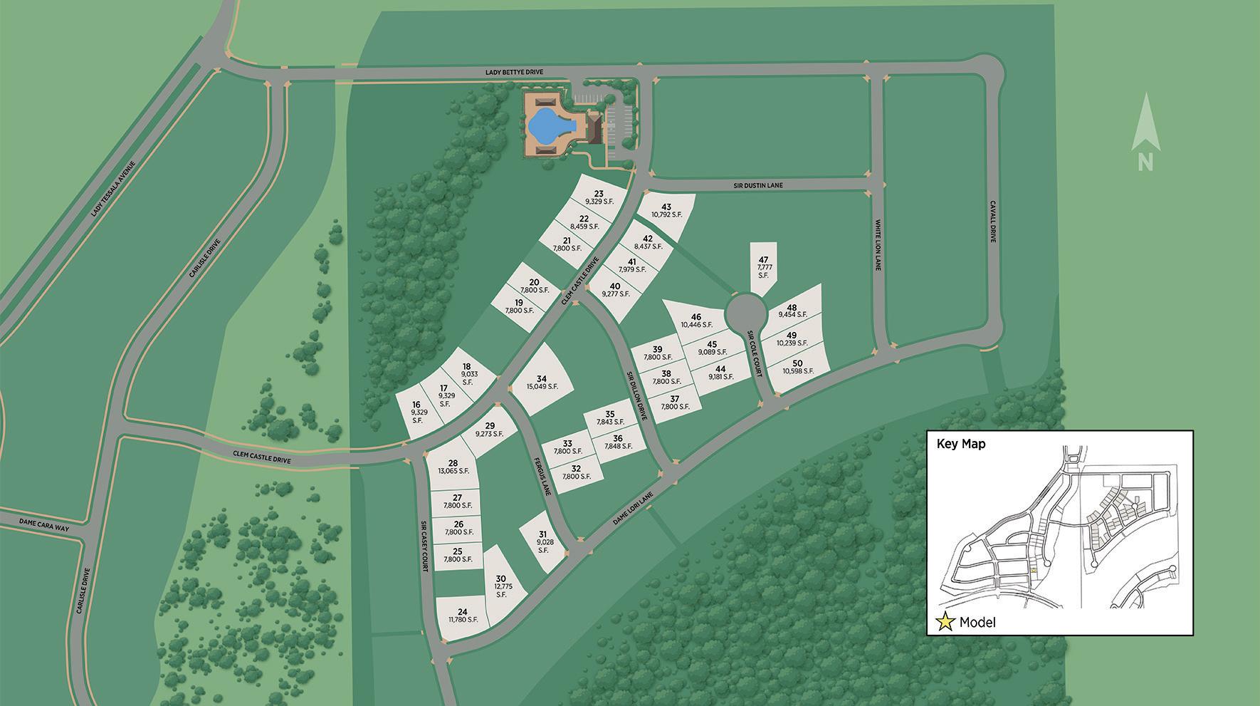 Castle Hills Site Plan