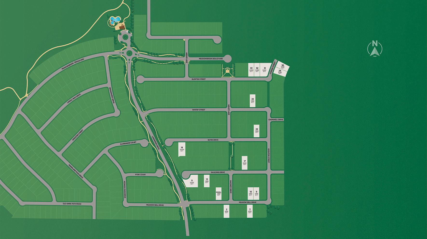 Lakewood at Brookhollow Site Plan