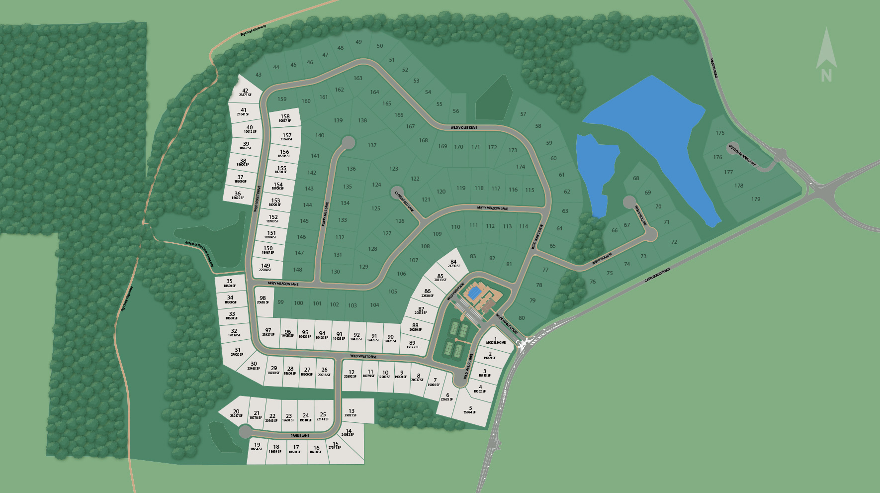 Brookmeade Site Plan