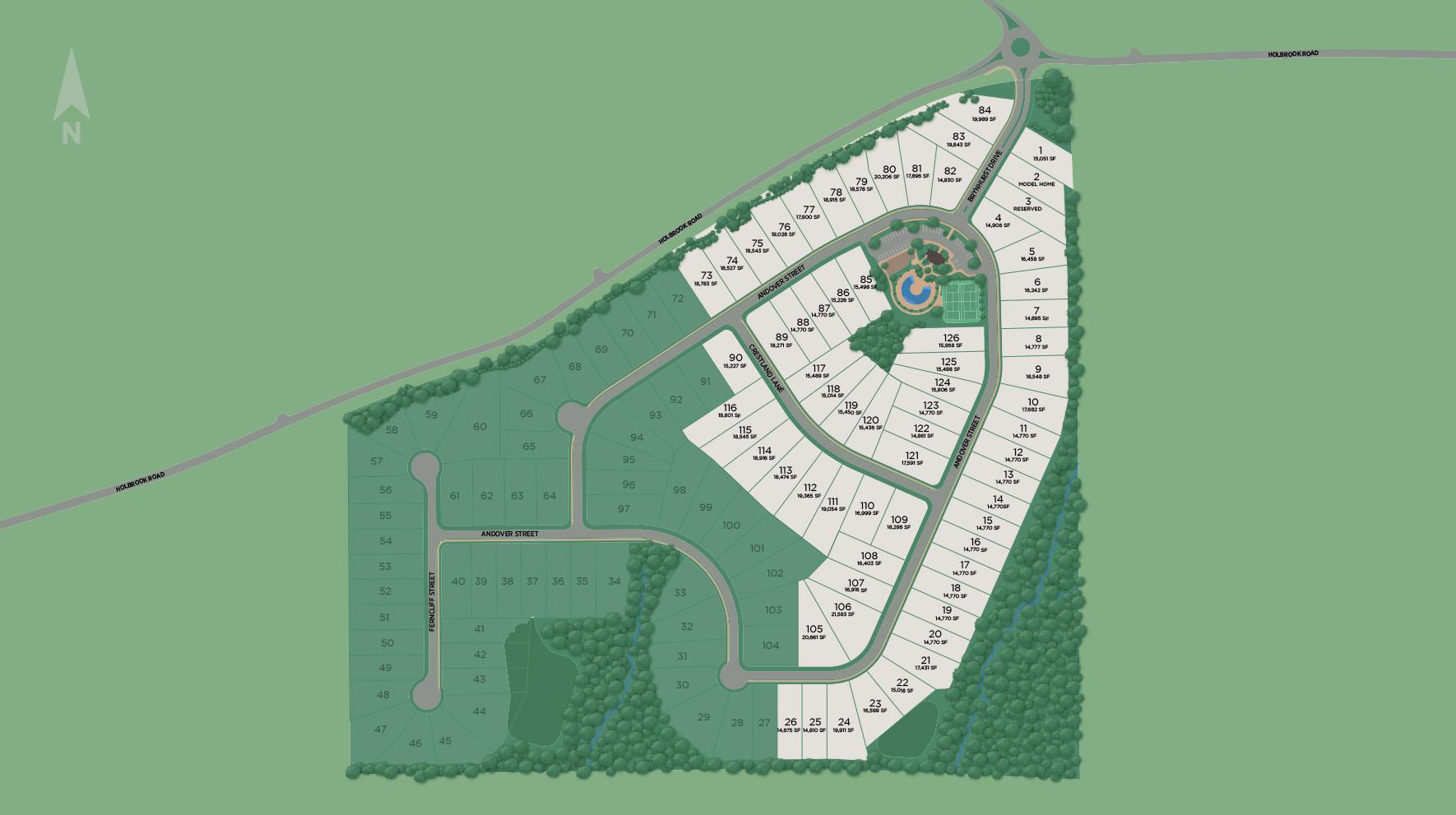 Holbrook Reserve Site Plan