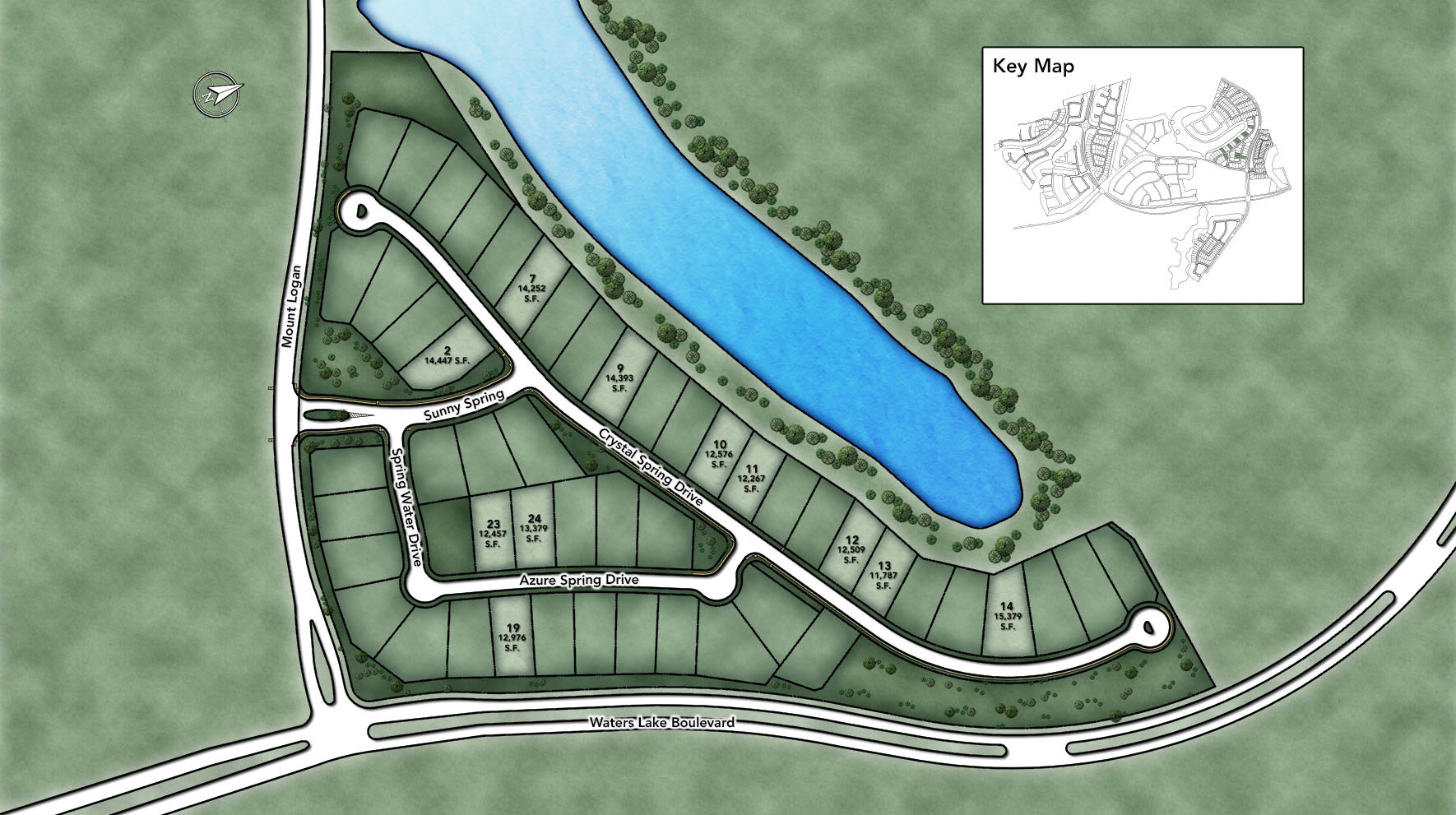 Sienna - Executive Collection Site Plan II