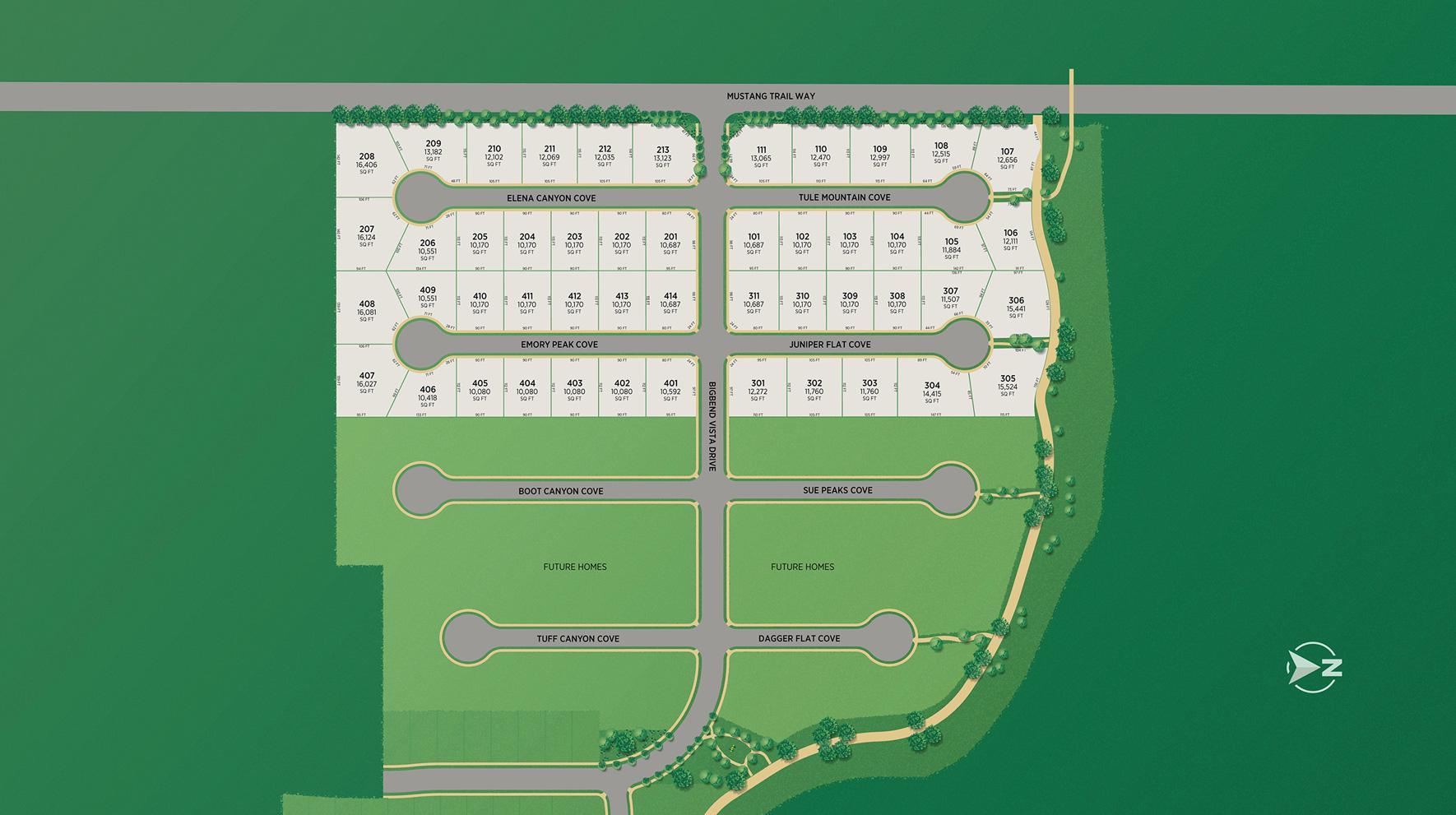 Toll Brothers at Denali Estates Site Plan