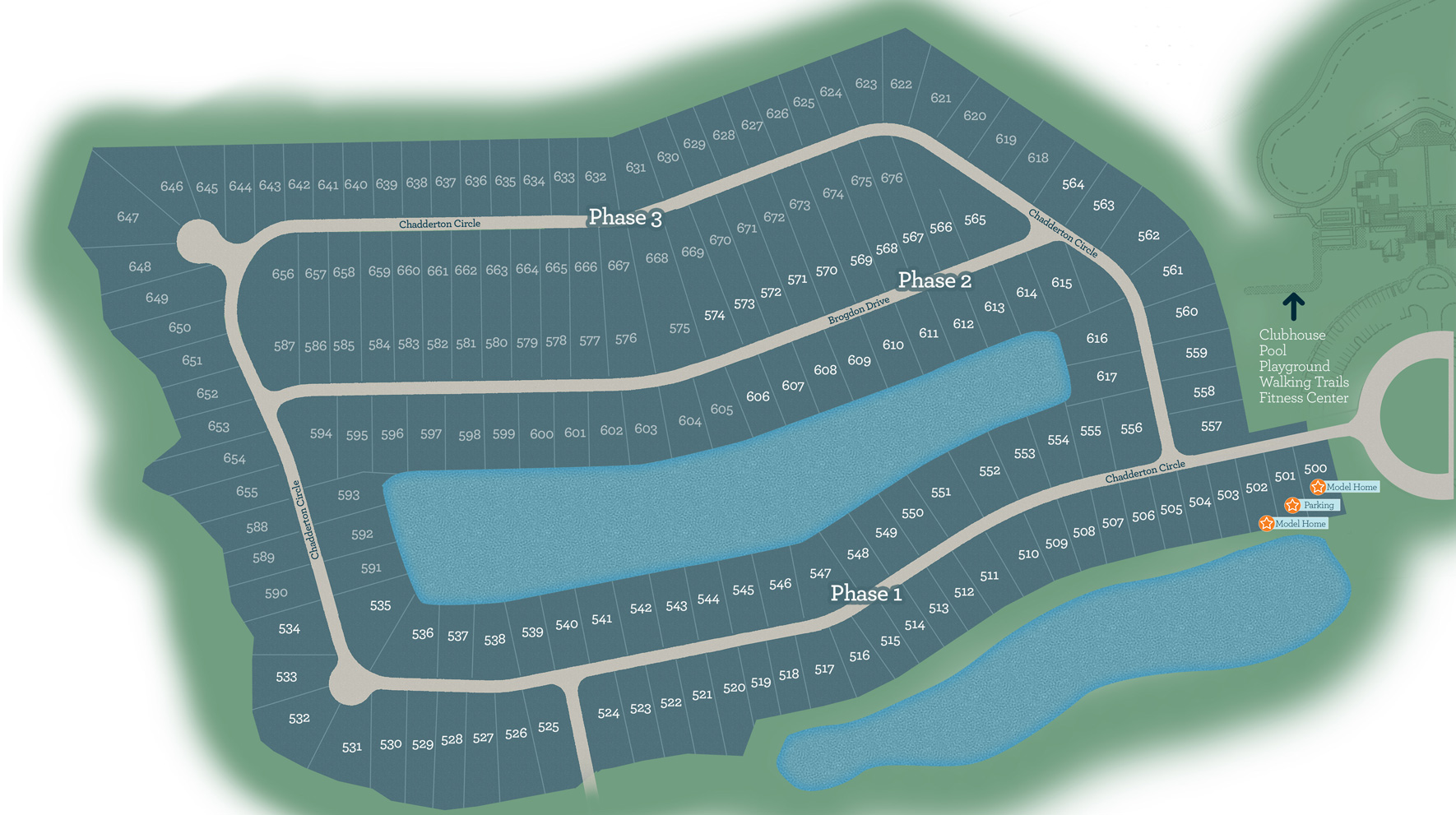 Clear Pond Site Plan