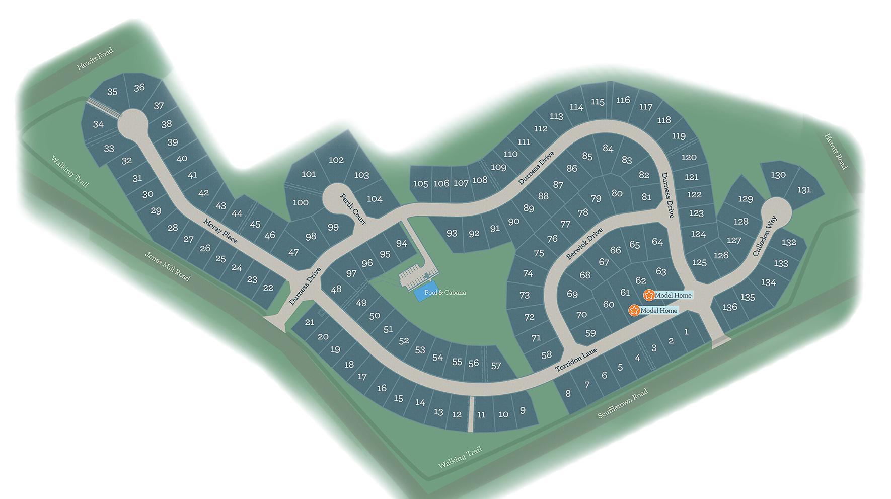 Jones Mill Crossing Site Plan