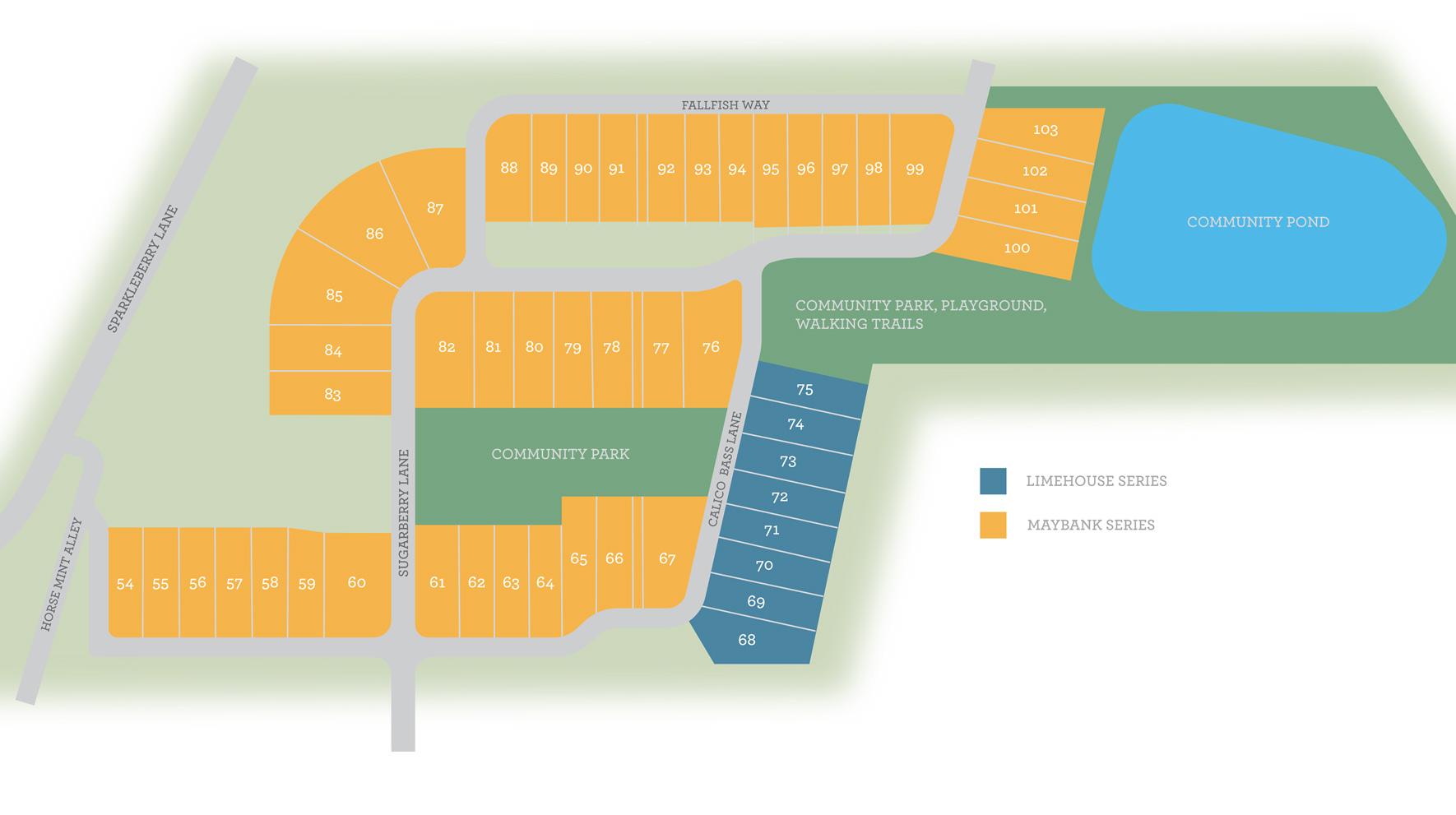 Johnston Pointe Site Plan