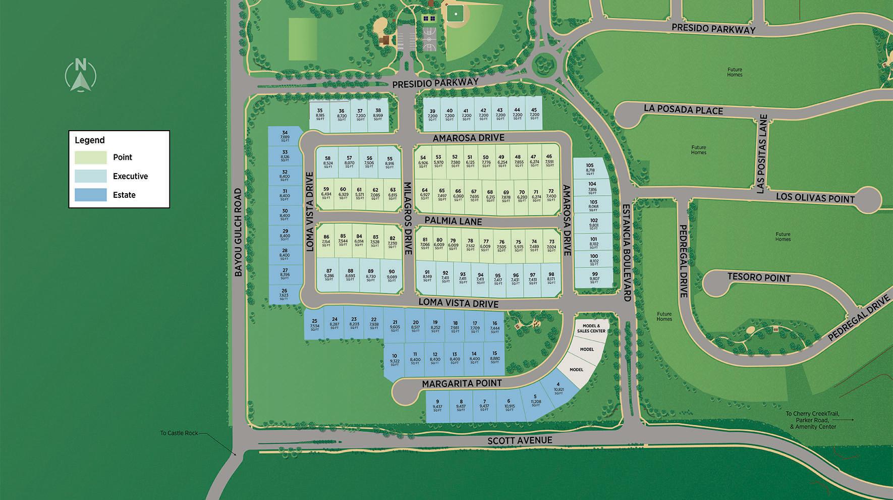 Allison Ranch Site Plan
