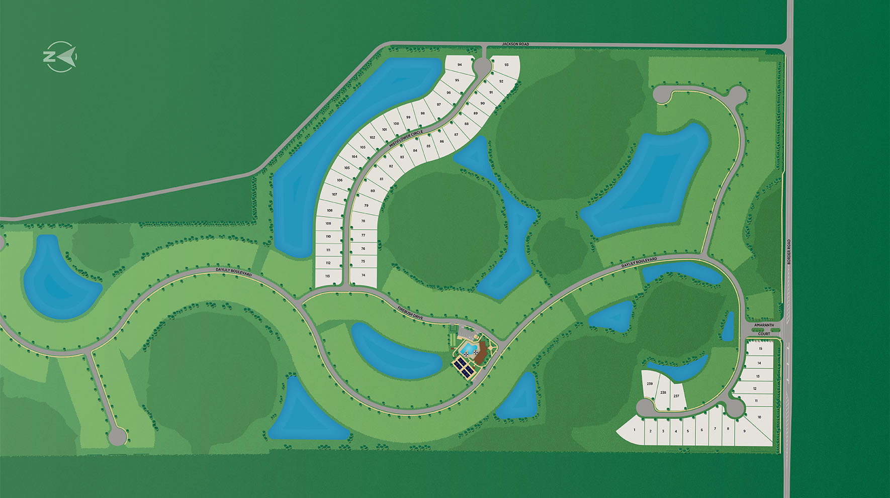 Toll Brothers at Venice Woodlands Site Plan