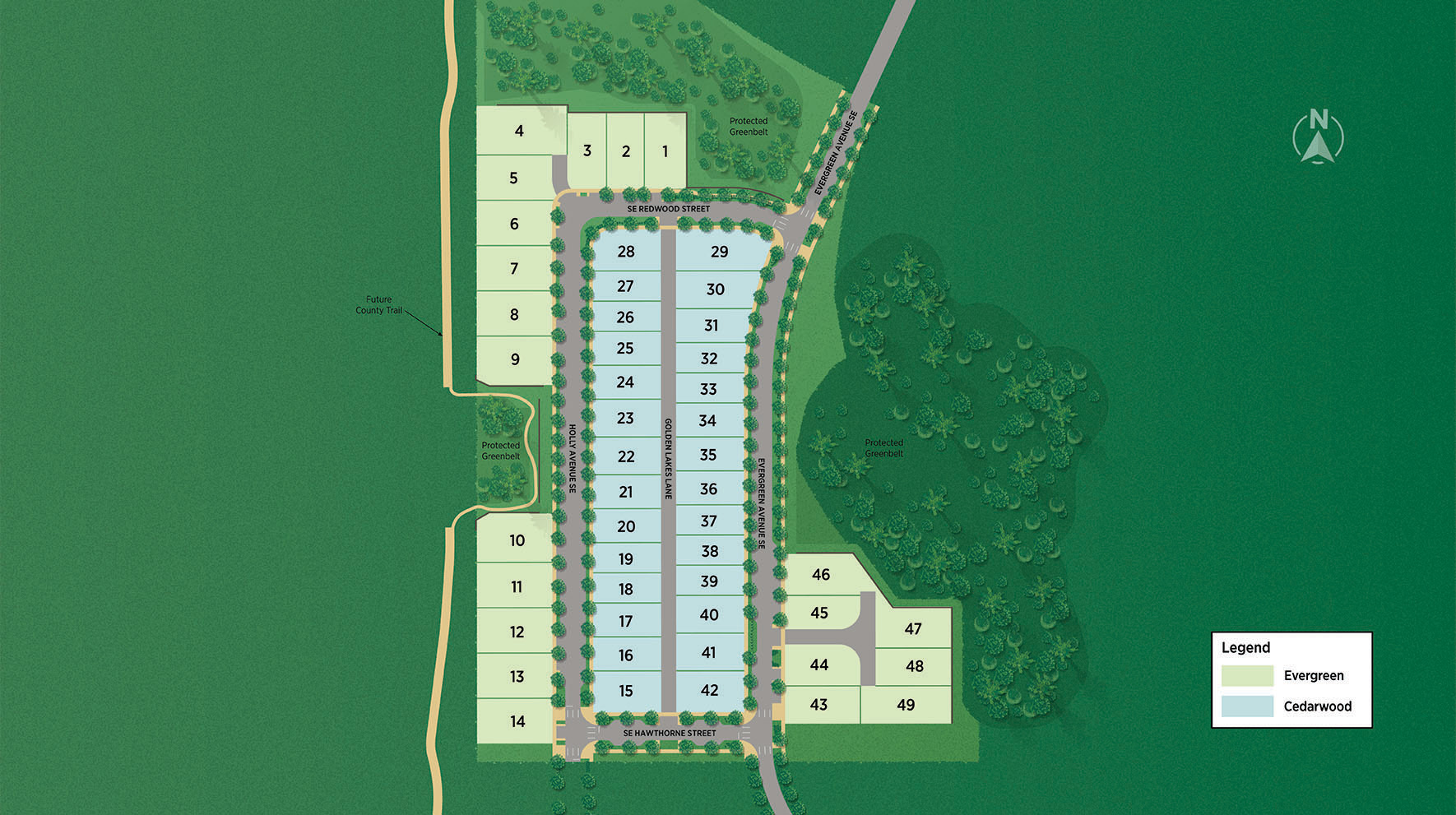 Toll Brothers at Ten Trails Site Plan