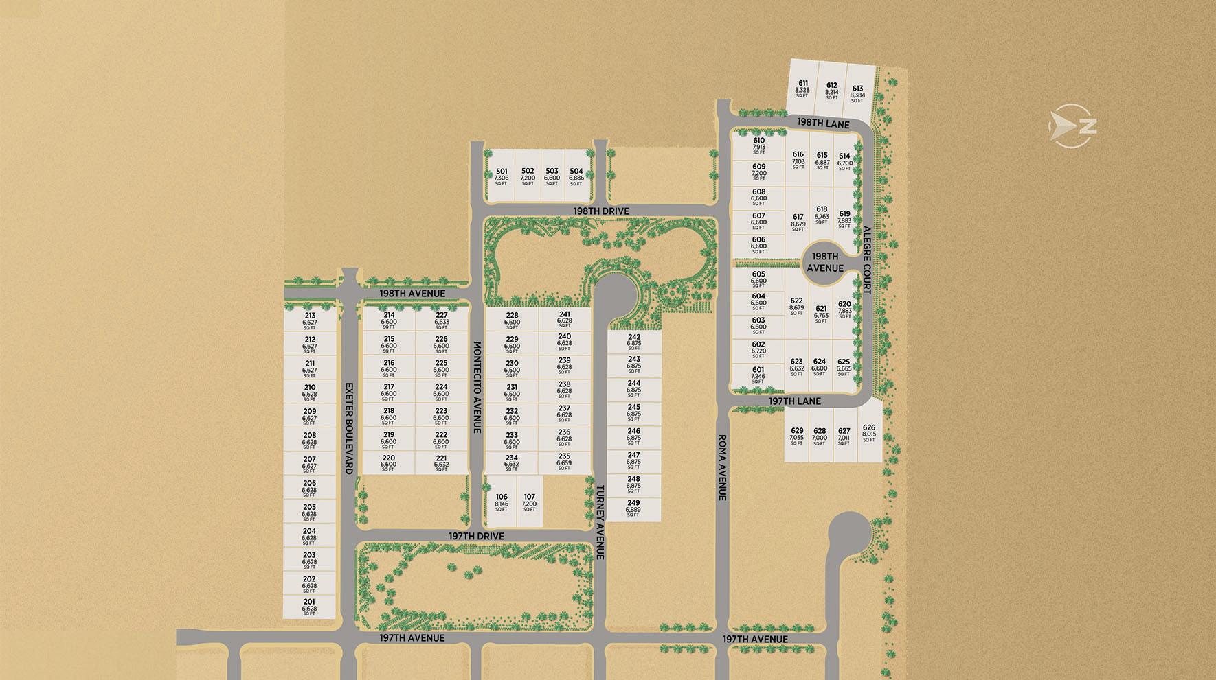 Allevare at Verrado Site Plan