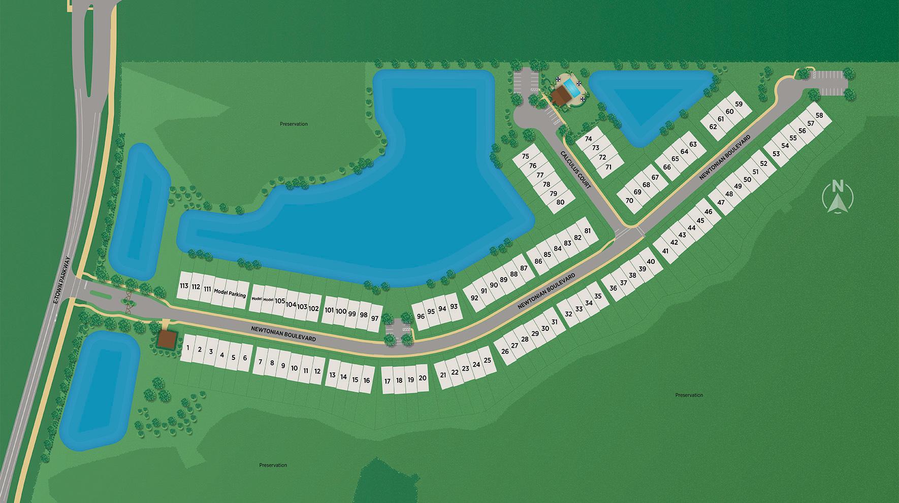 Newton Overall Site Plan