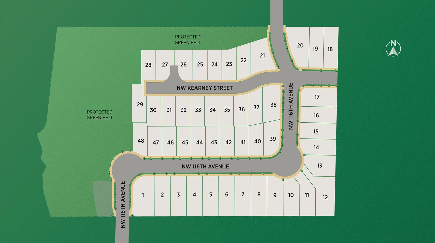 Cedar Mill Landing Site Plan