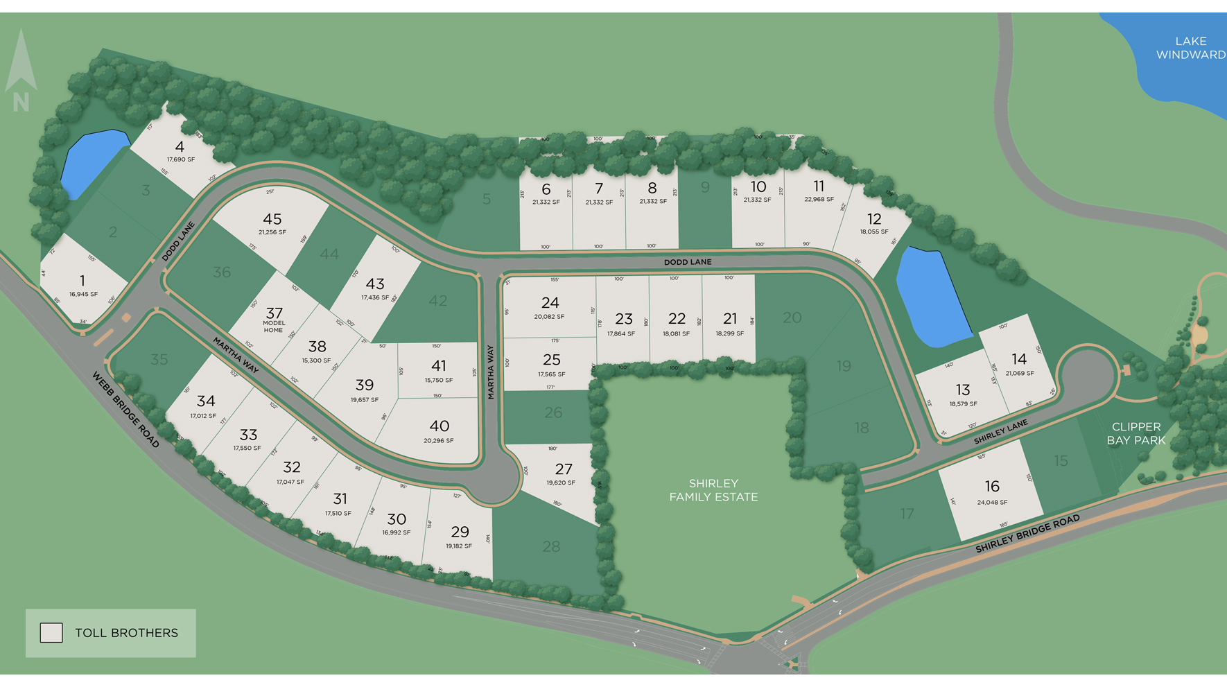 Shirley Estates Site Plan
