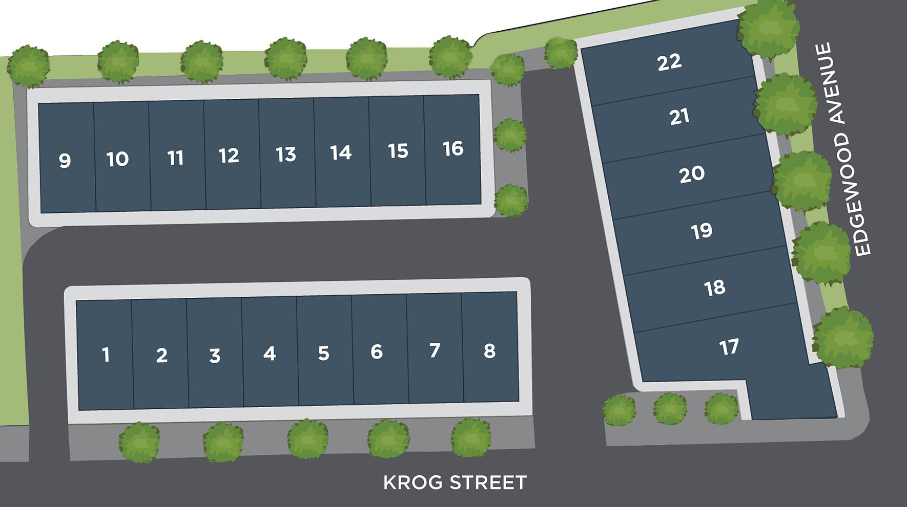 Emerson on Krog Site Plan