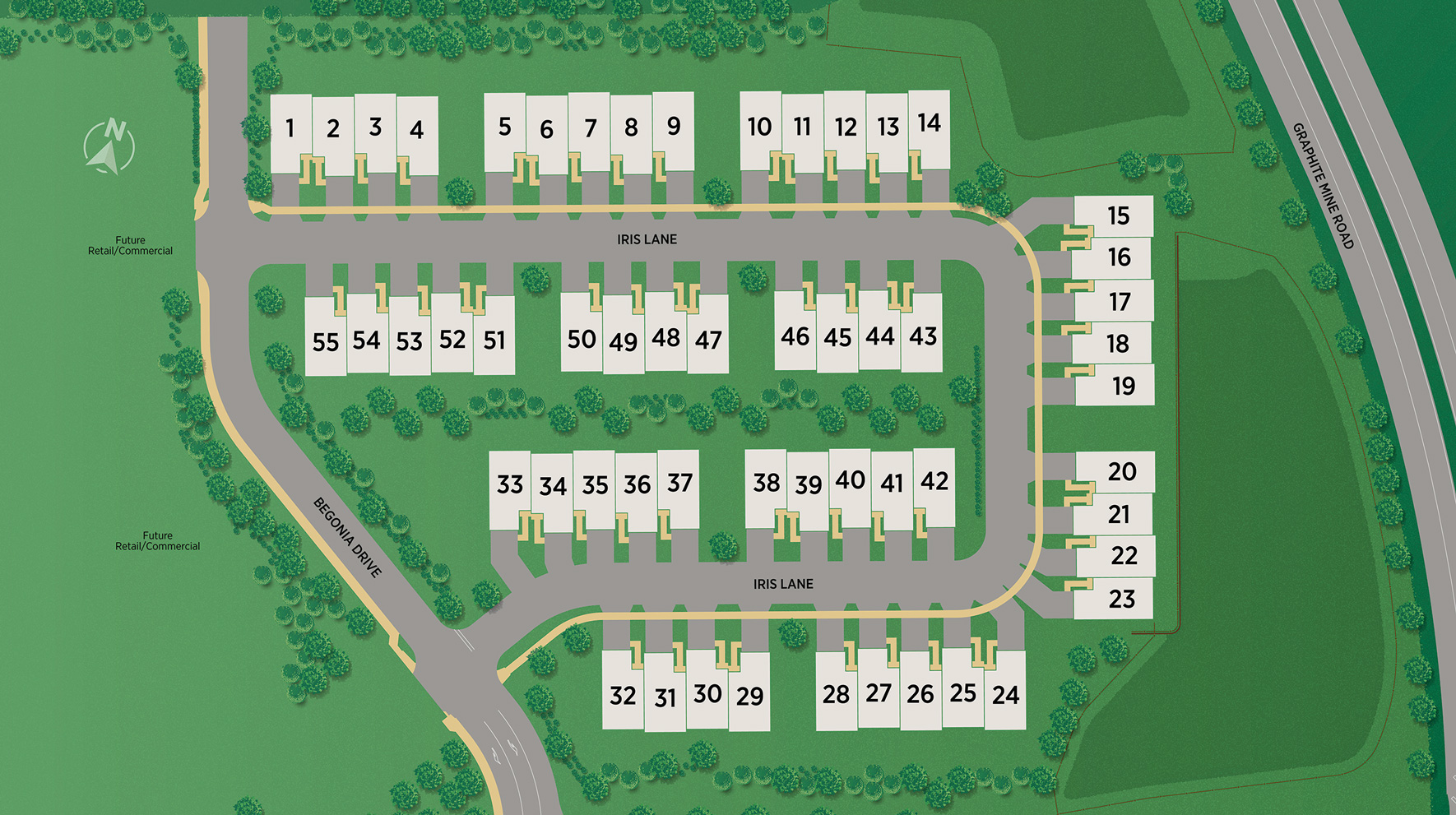 Enclave at Chester Springs Site Plan
