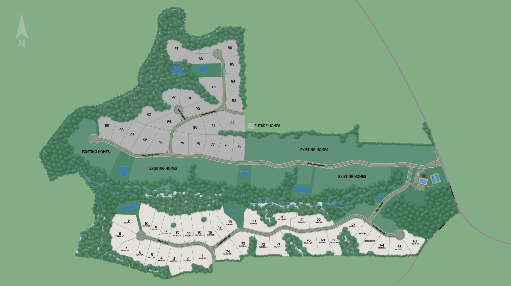 Grand Reserve Site Plan