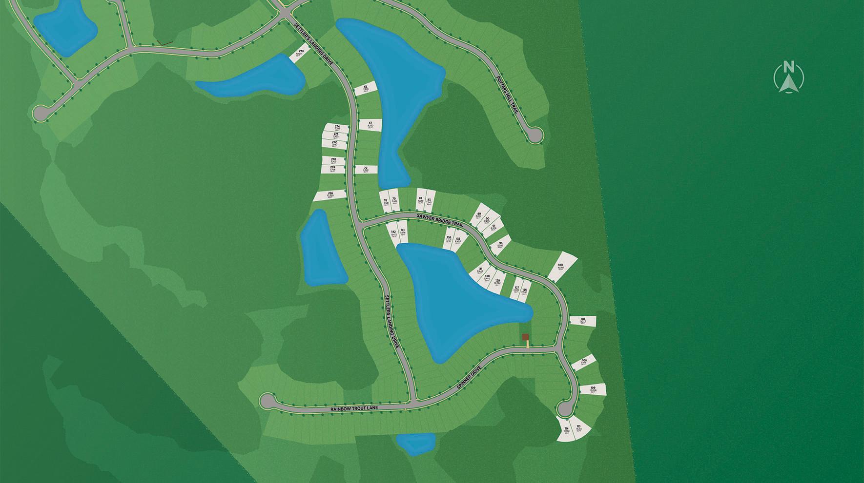 Settler's Landing Site Plan
