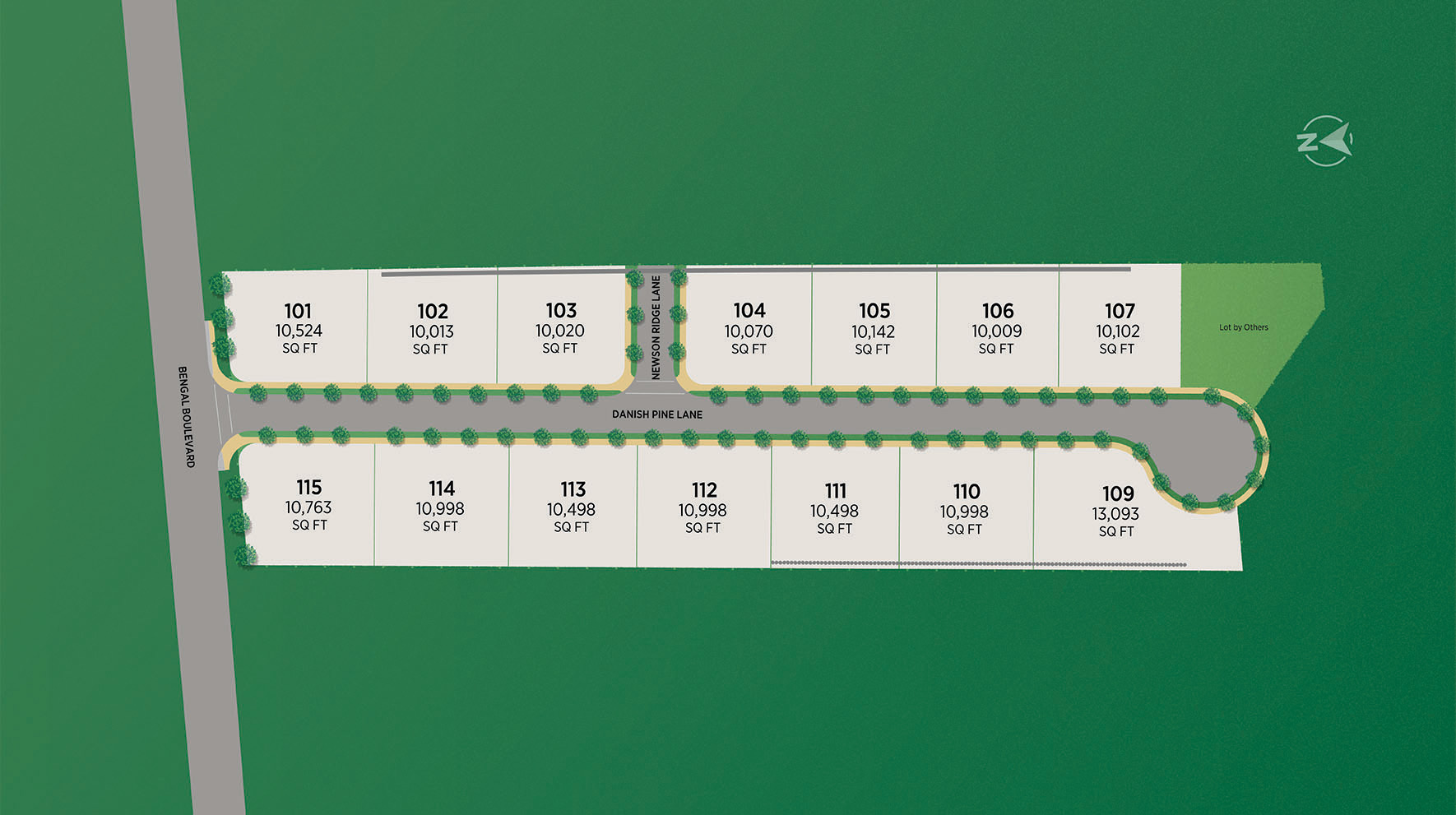 Danish Pines Site Plan
