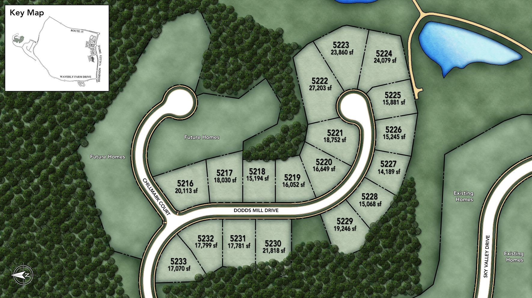 Dominion Valley Country Club - The Estates Site Plan II