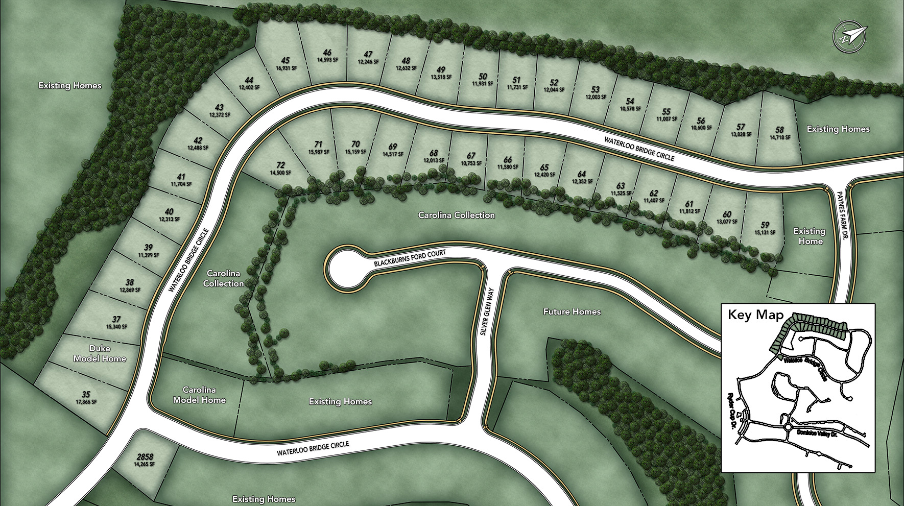 Dominion Valley Country Club - Executives Site Plan I