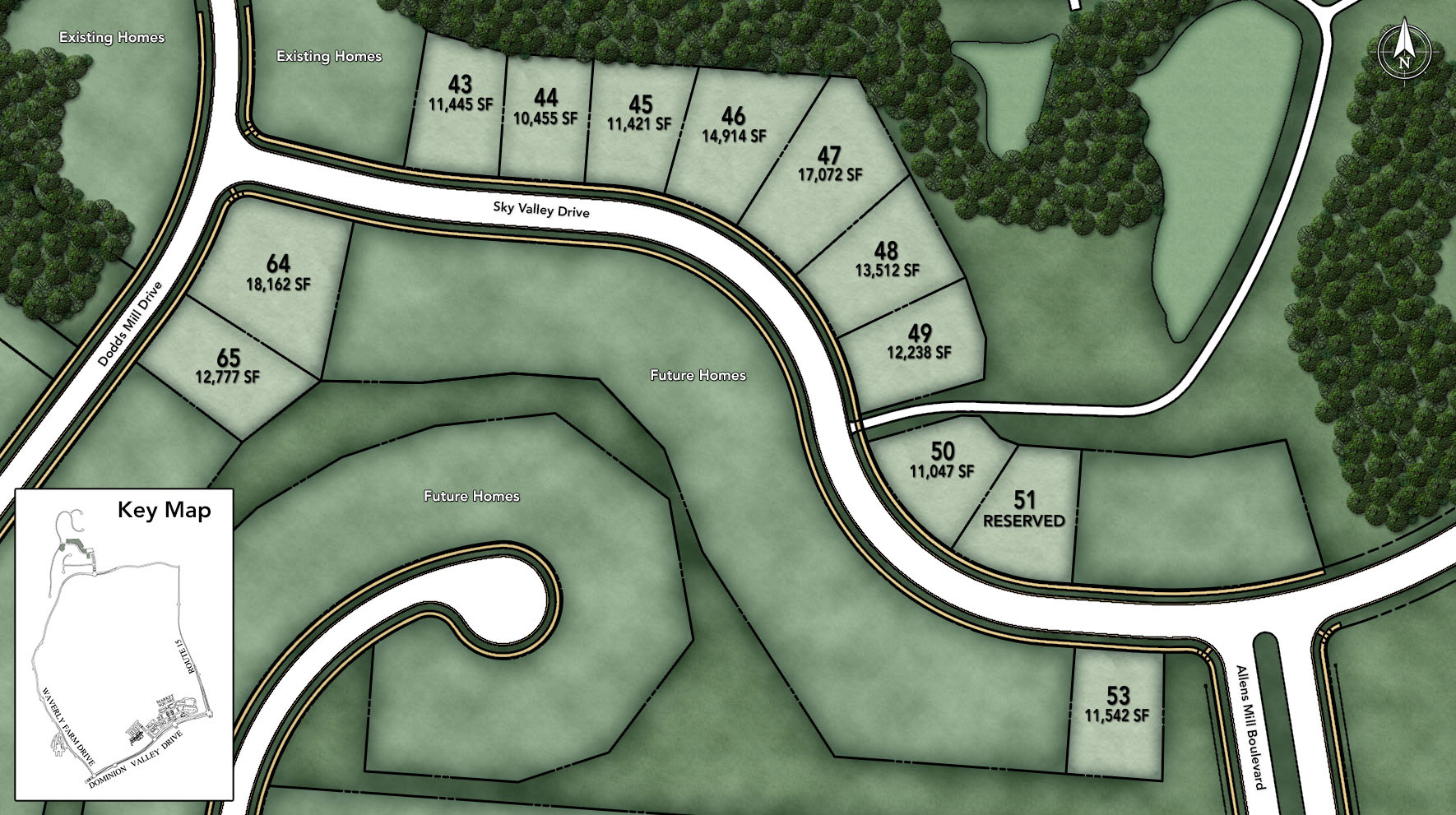 Dominion Valley Country Club - Executives Site Plan II