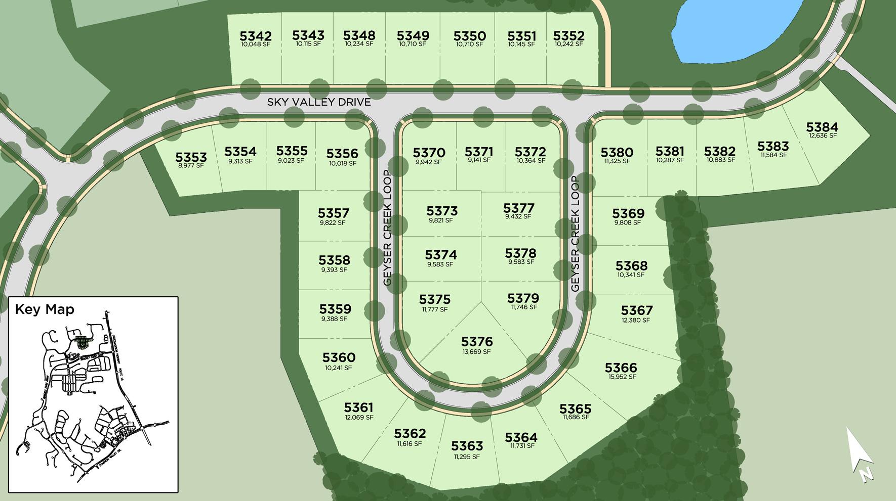 Dominion Valley Country Club - Carolinas Site Plan