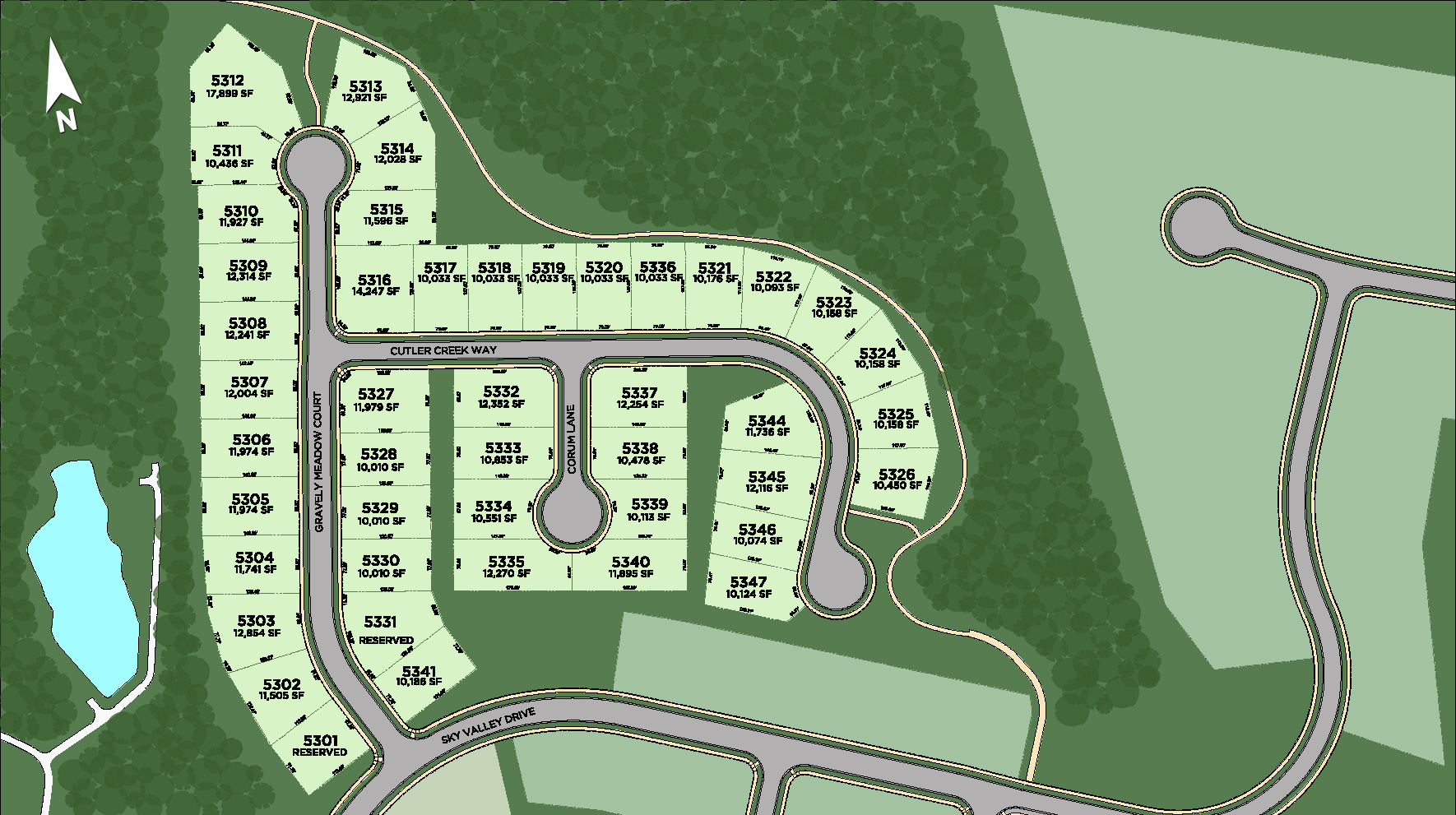 Dominion Valley Country Club - Villas Site Plan
