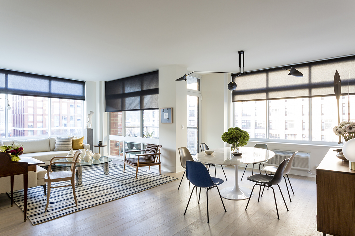 Sleek and spacious living areas