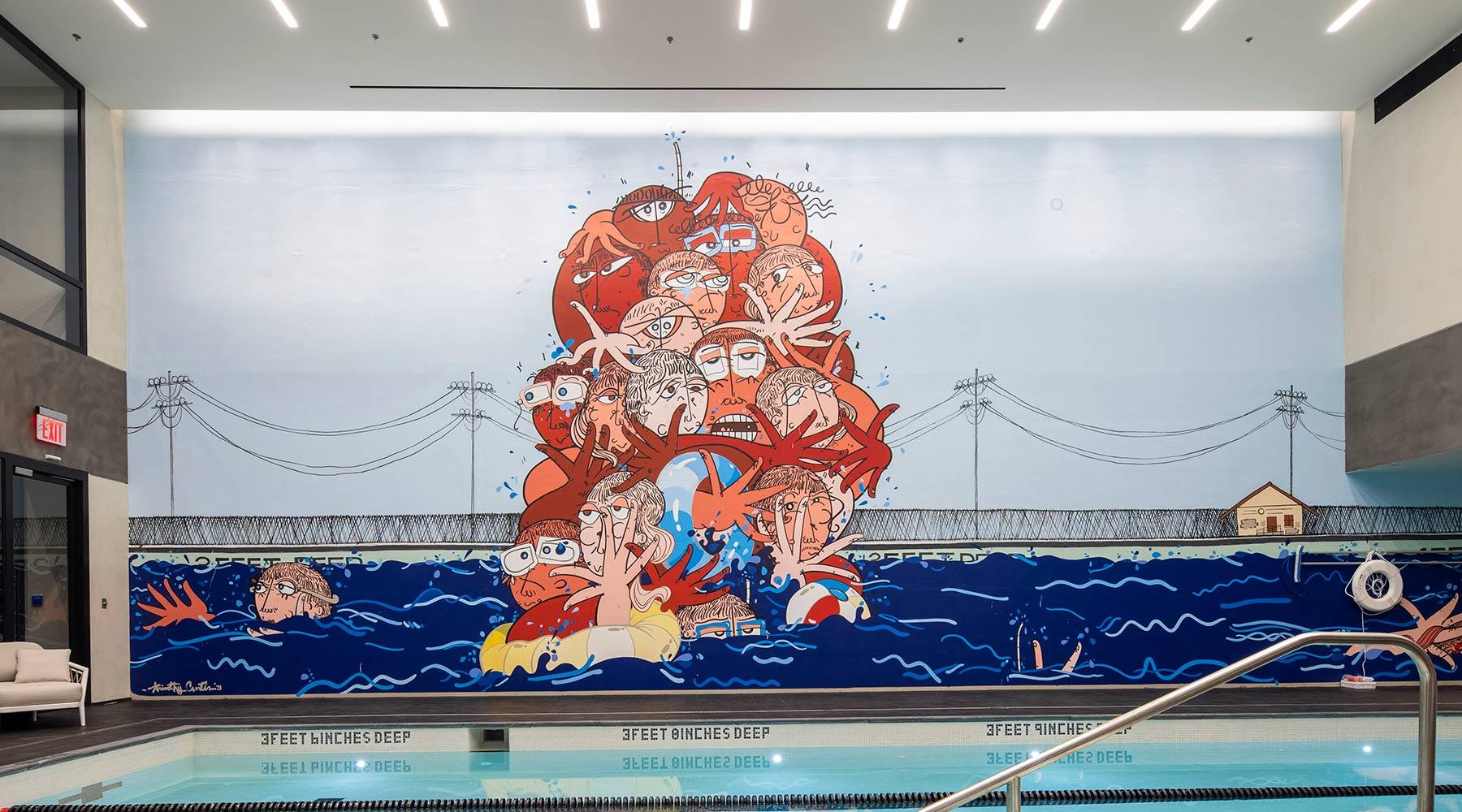 77 Charlton Pool Mural