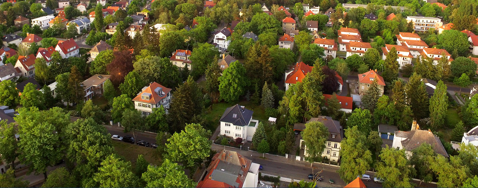 neighborhood overhead view