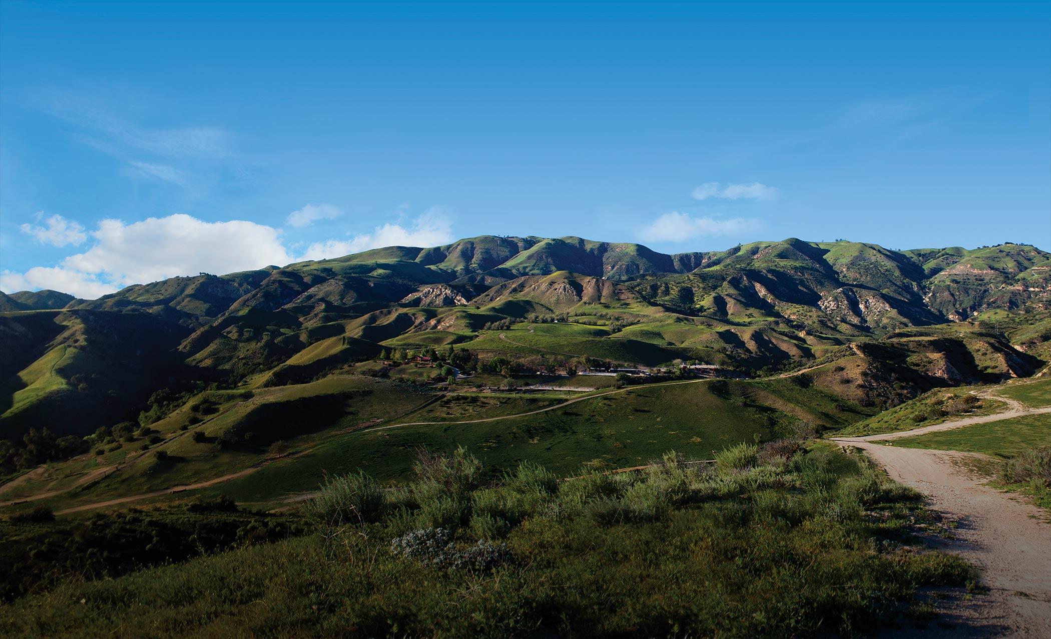 California Hills at Daytime