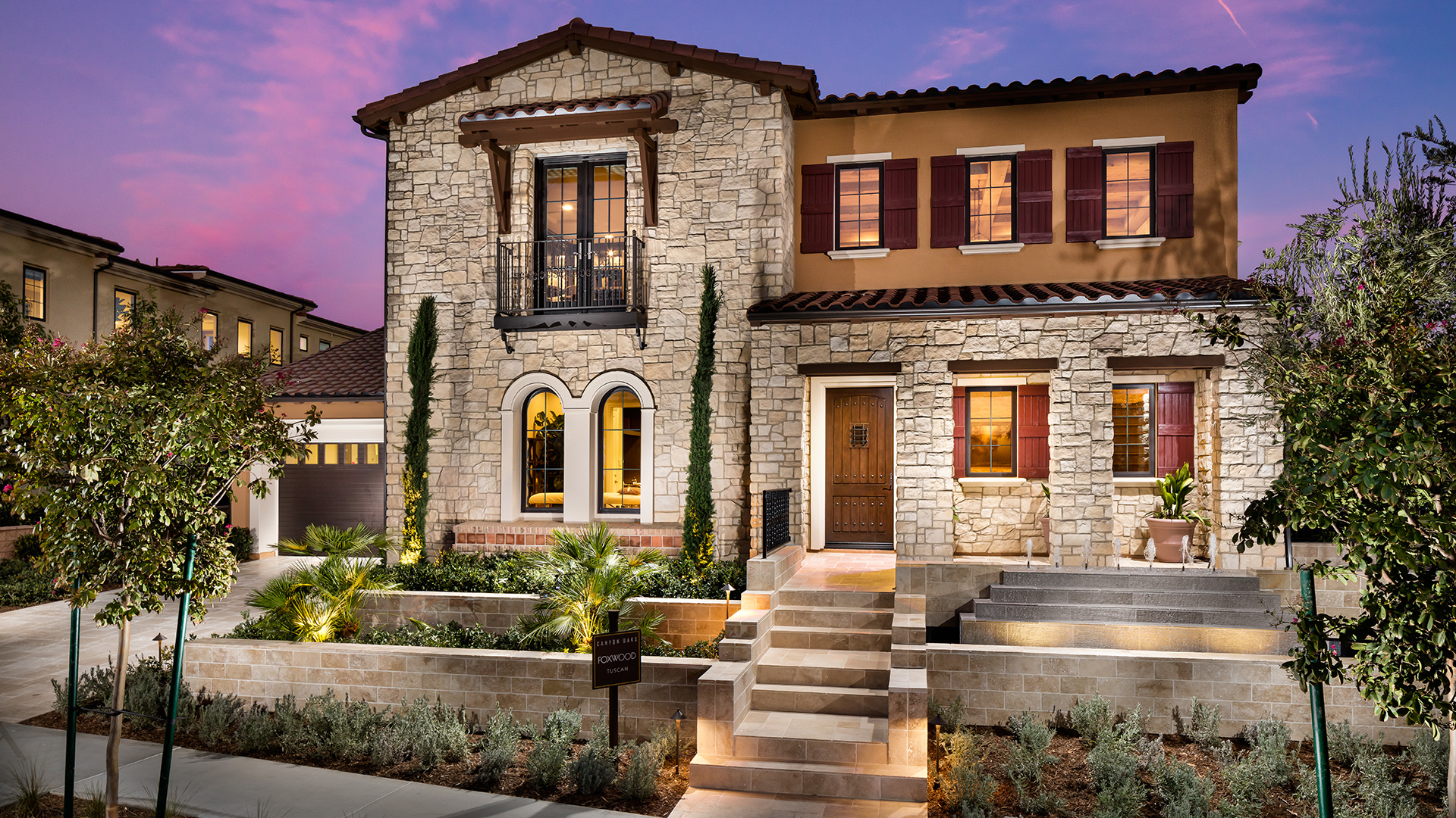 Foxwood Model at Canyon Oaks